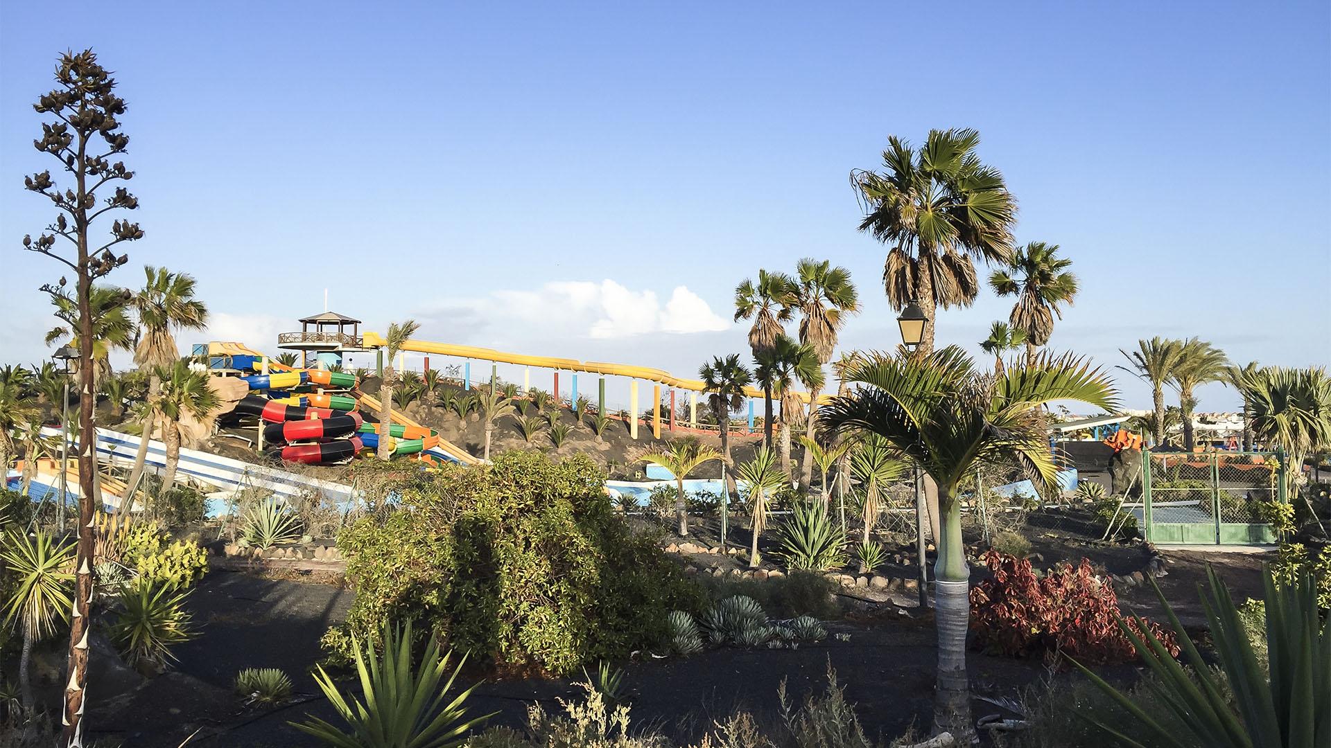 Sehenswürdigkeiten Fuerteventuras: Corralejo – Acua Water Park.