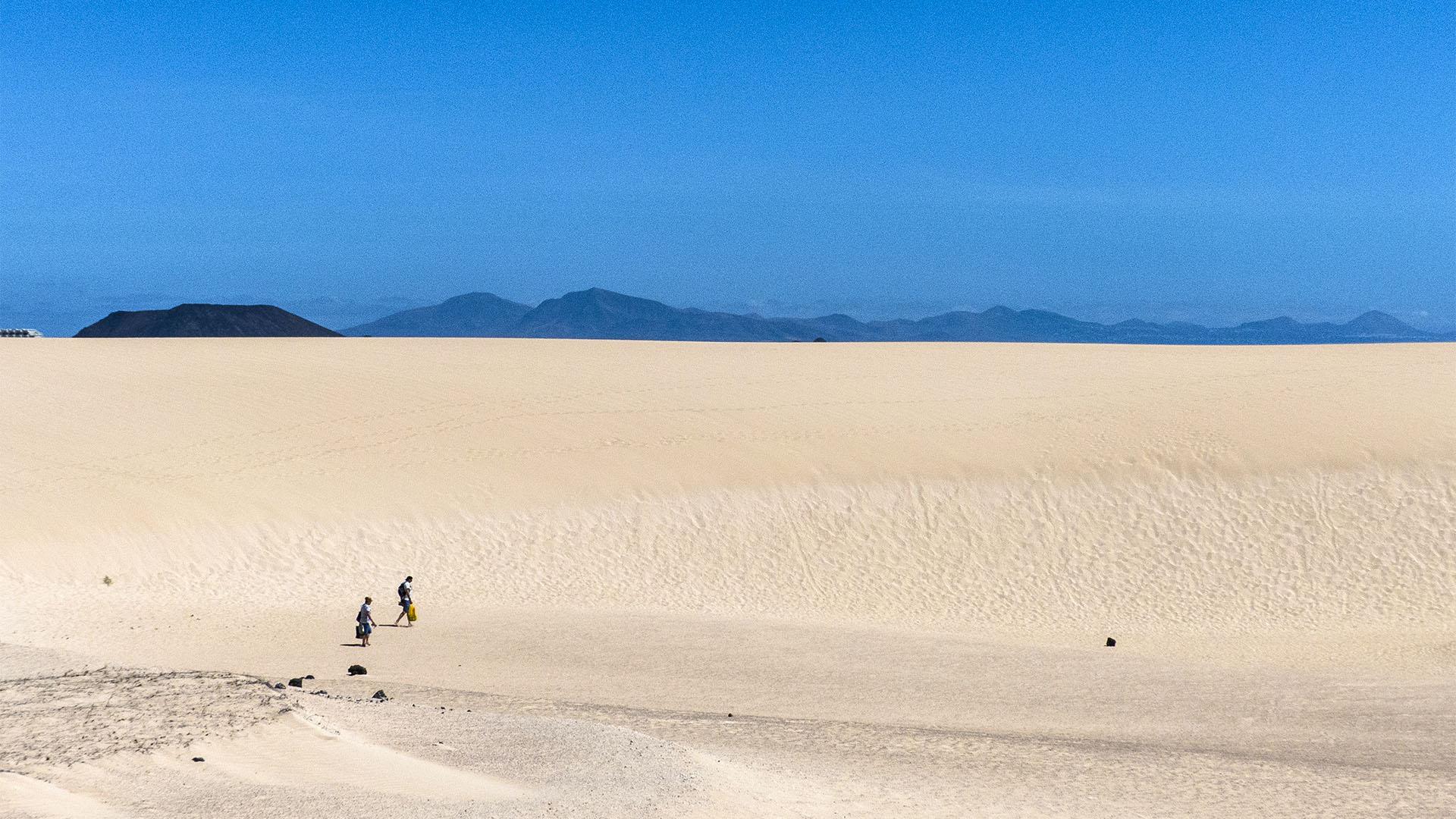 Sehenswürdigkeiten Fuerteventuras: Corralejo – El Jable