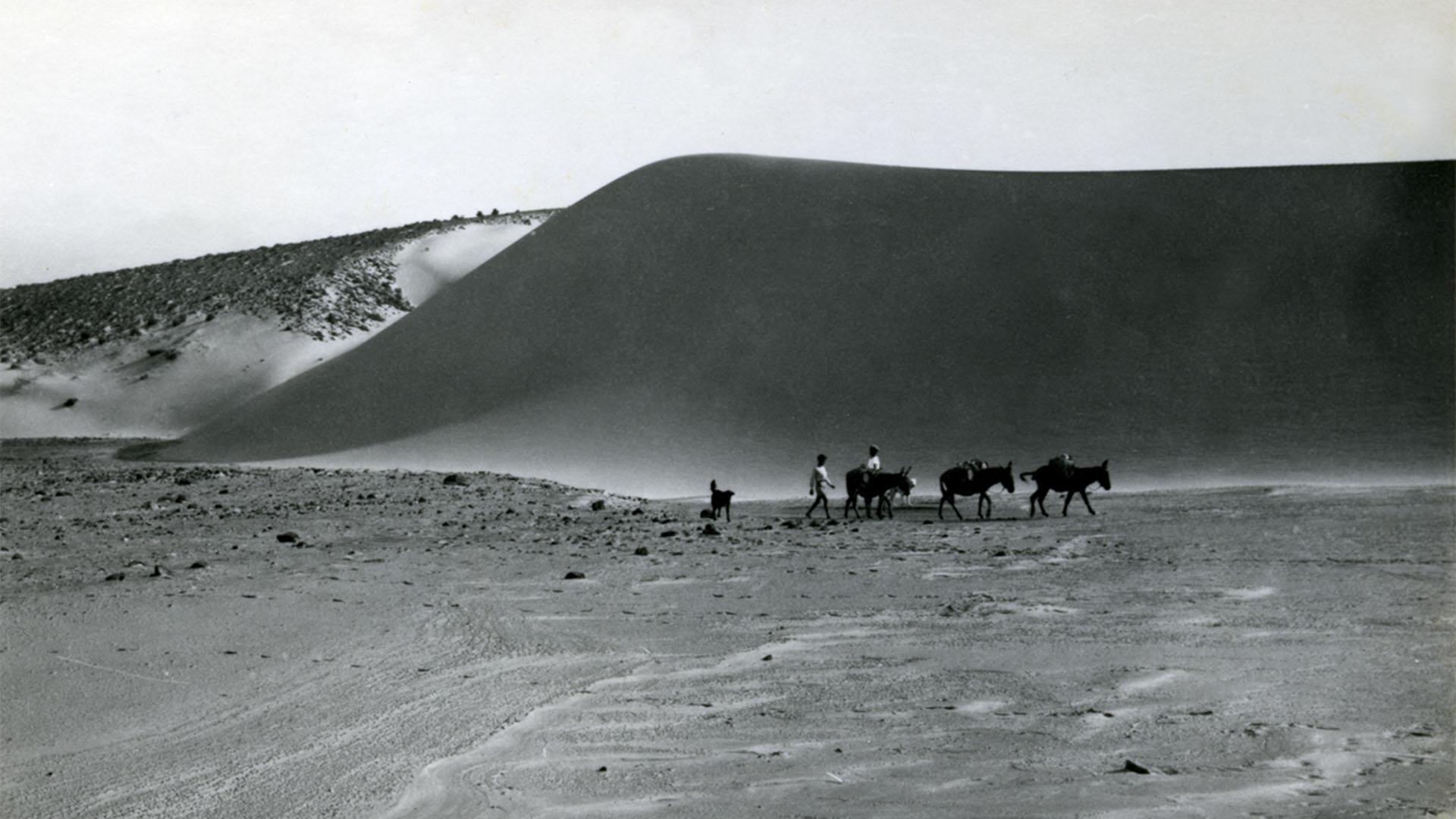 El Jable Dunas de Corralejo Fuerteventura – historische Aufnahme ohne Jahr.