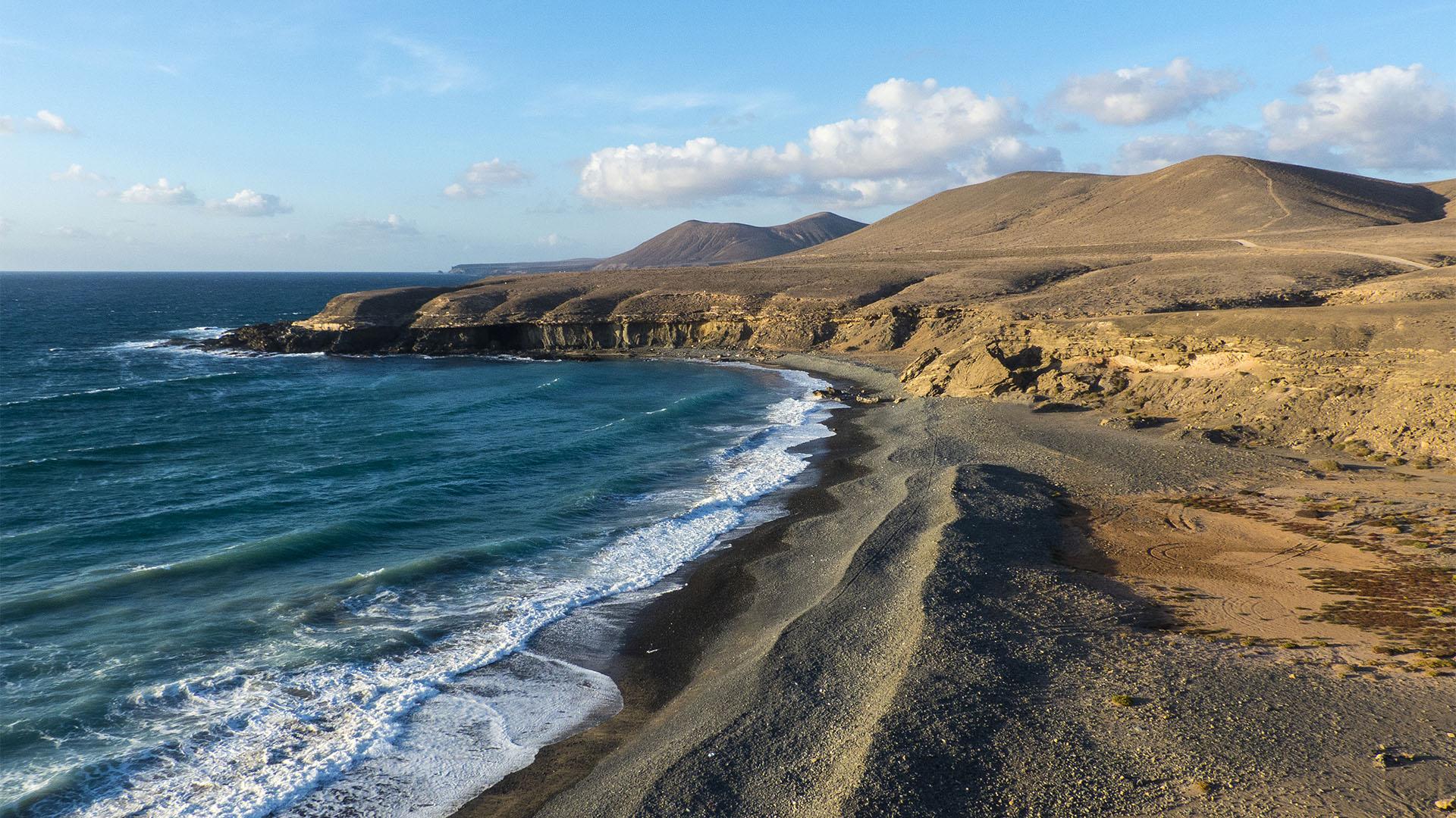 Strände Fuerteventura: Playa de Garcey Pájara.