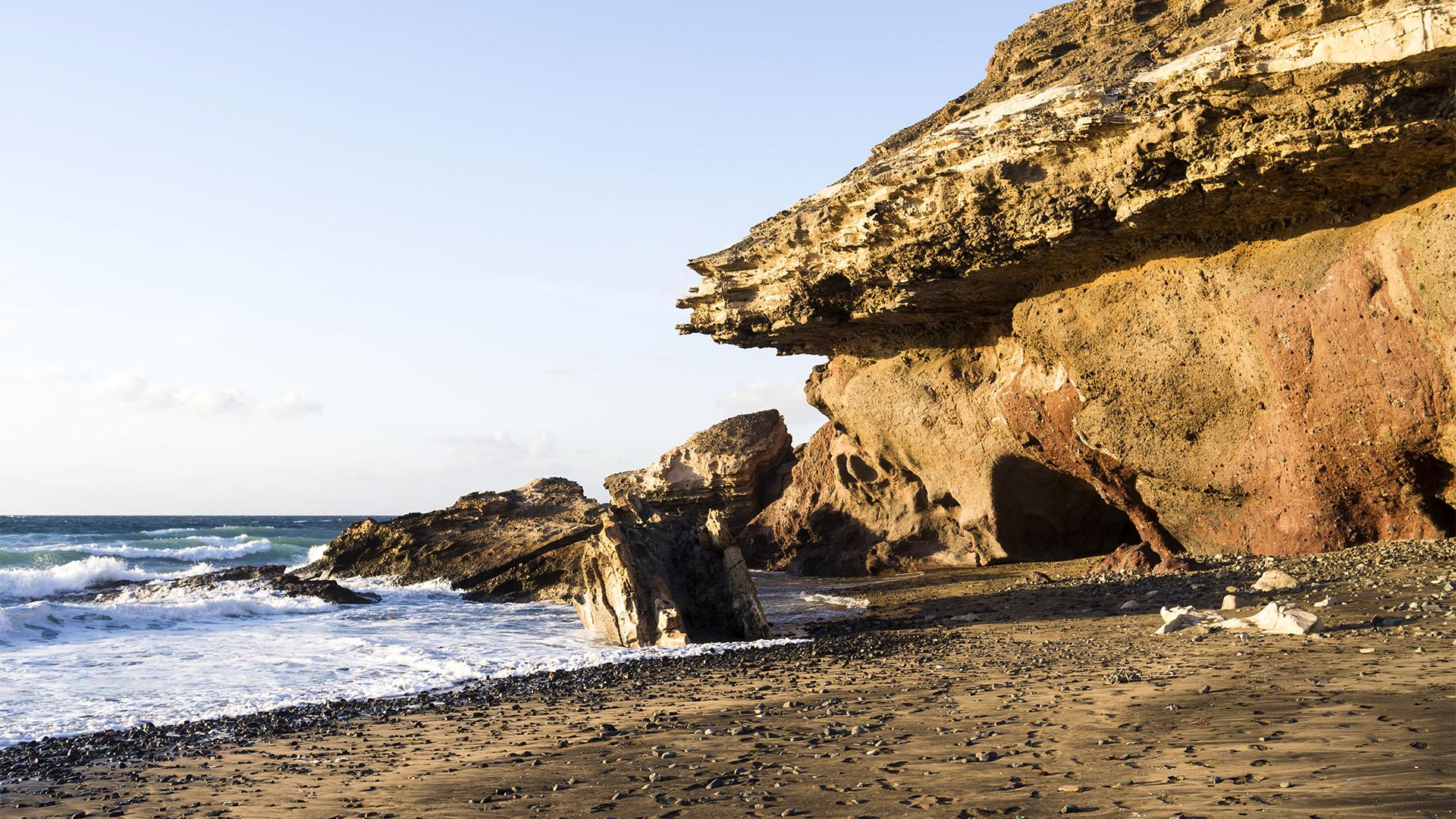 Strände Fuerteventura: Playa de Vigocho Pájara.