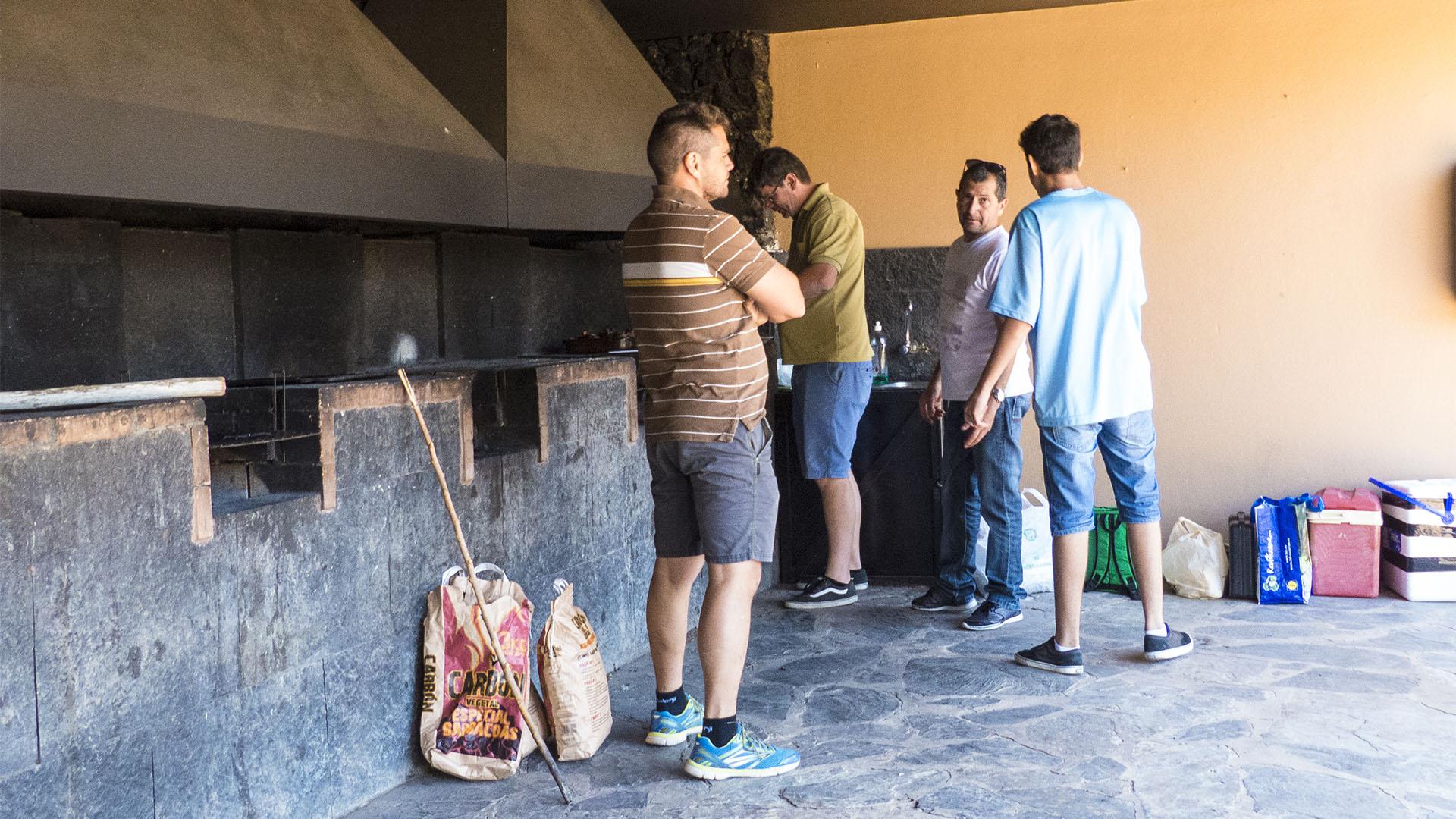 Sehenswürdigkeiten Fuerteventuras: Betancuria – Castillo de Lara area recreativa Betancuria