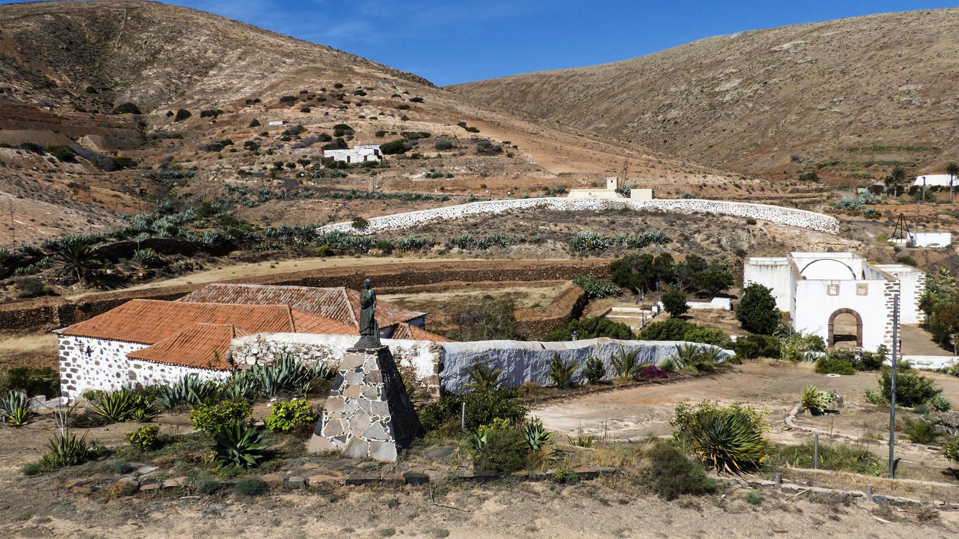Sehenswürdigkeiten Fuerteventura –Benediktiner Kloster San Buenaventura.