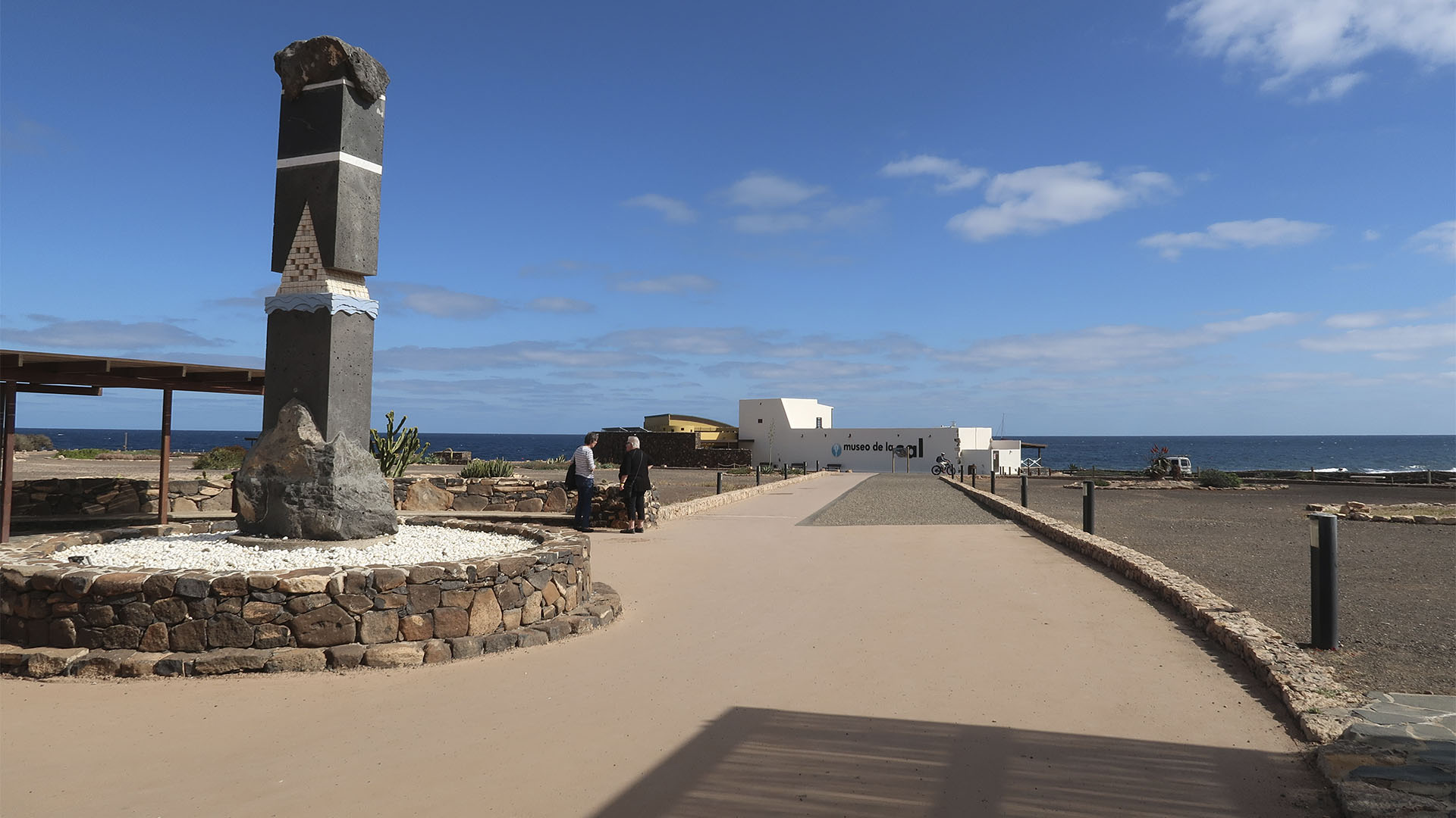 Museo de la Sal Salinas del Carmen Fuerteventura.