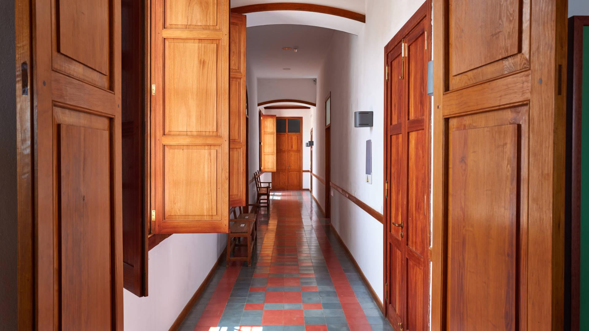 Hospital La Caridad de San Conrado y San Gaspar La Ampuyenta Fuerteventura.