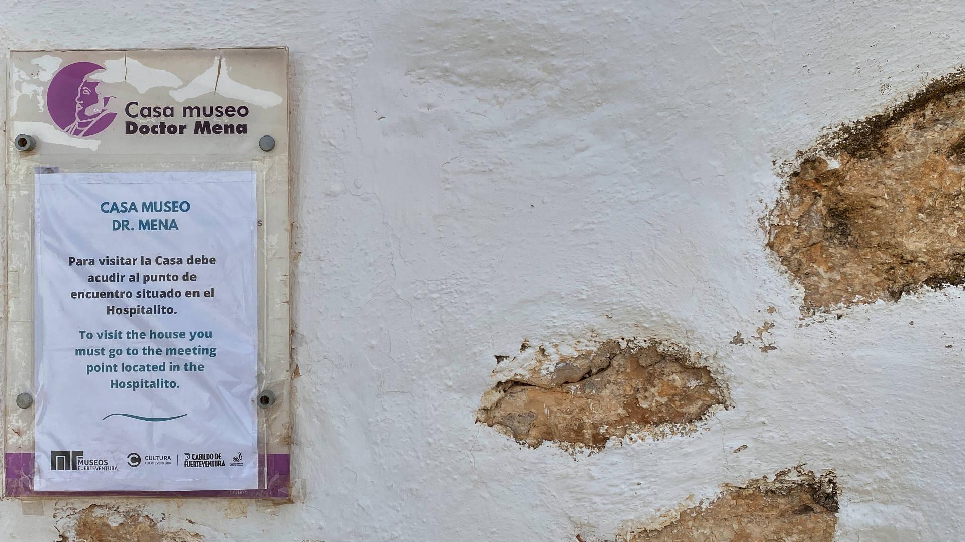 Besuch der Casa Doctor Tomás Mesa y Mena in La Ampuyenta Fuerteventura.
