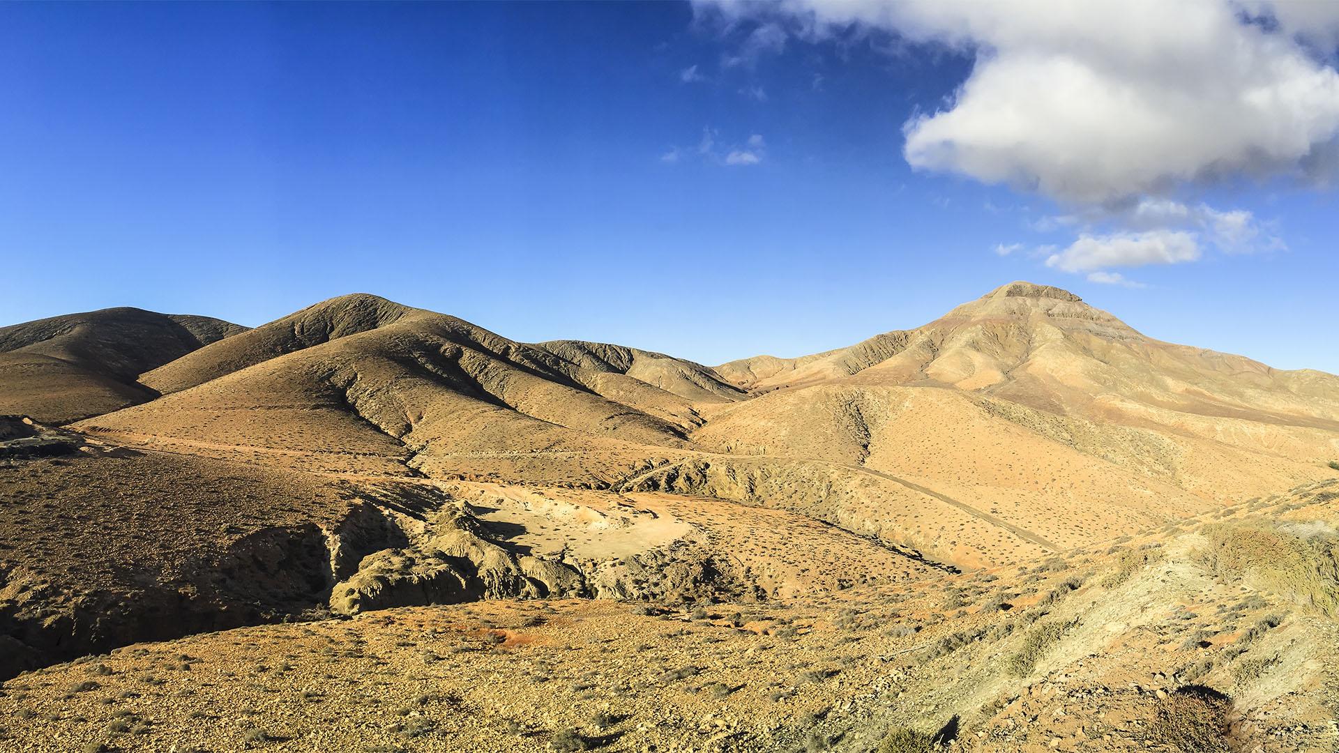 Sehenswürdigkeiten Fuerteventuras: El Cardon – Degollada de Las Bujas