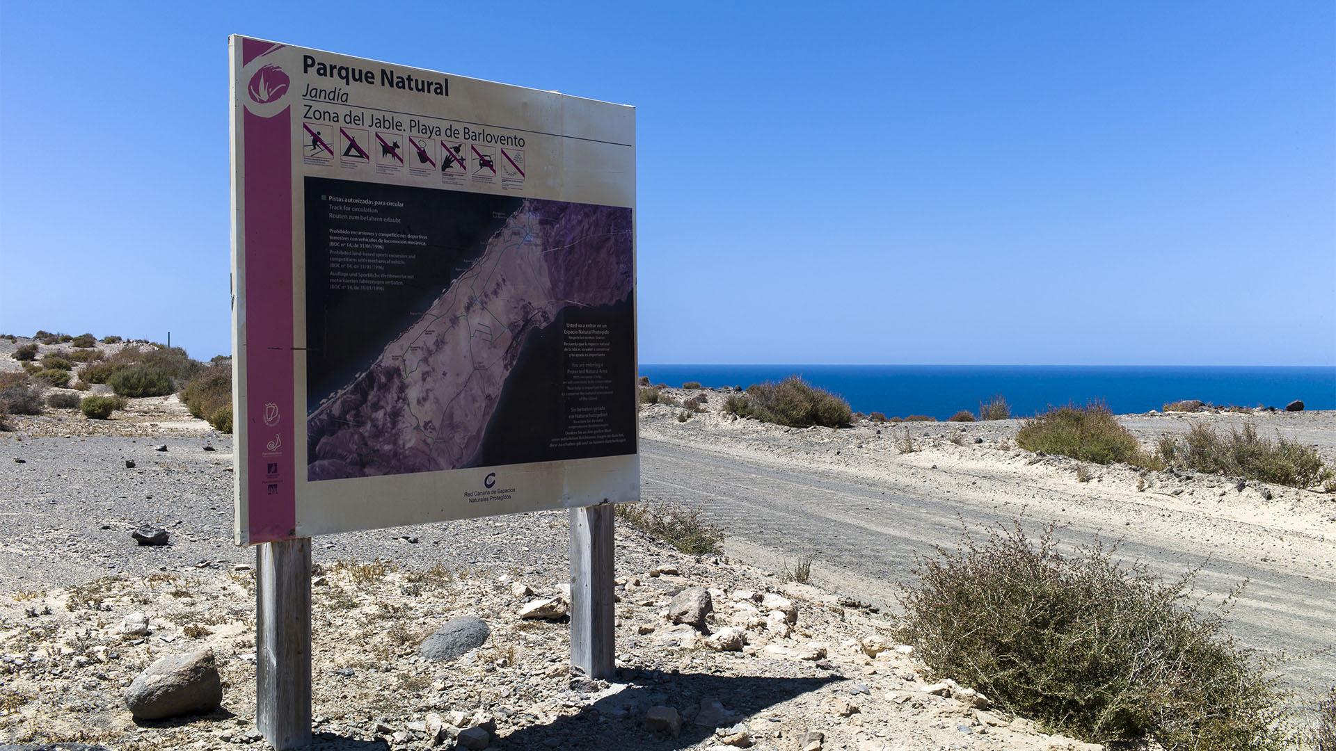 Sehenswürdigkeiten Fuerteventuras: La Pared – Istmo de La Pared