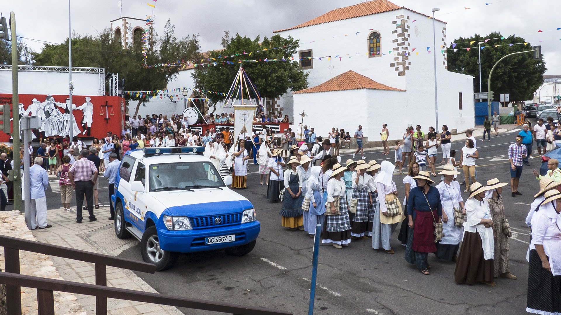 Sehenswürdigkeiten Fuerteventura –TuinejeFiesta San Miguel – Batallas del Cuchillete y Tamasite.