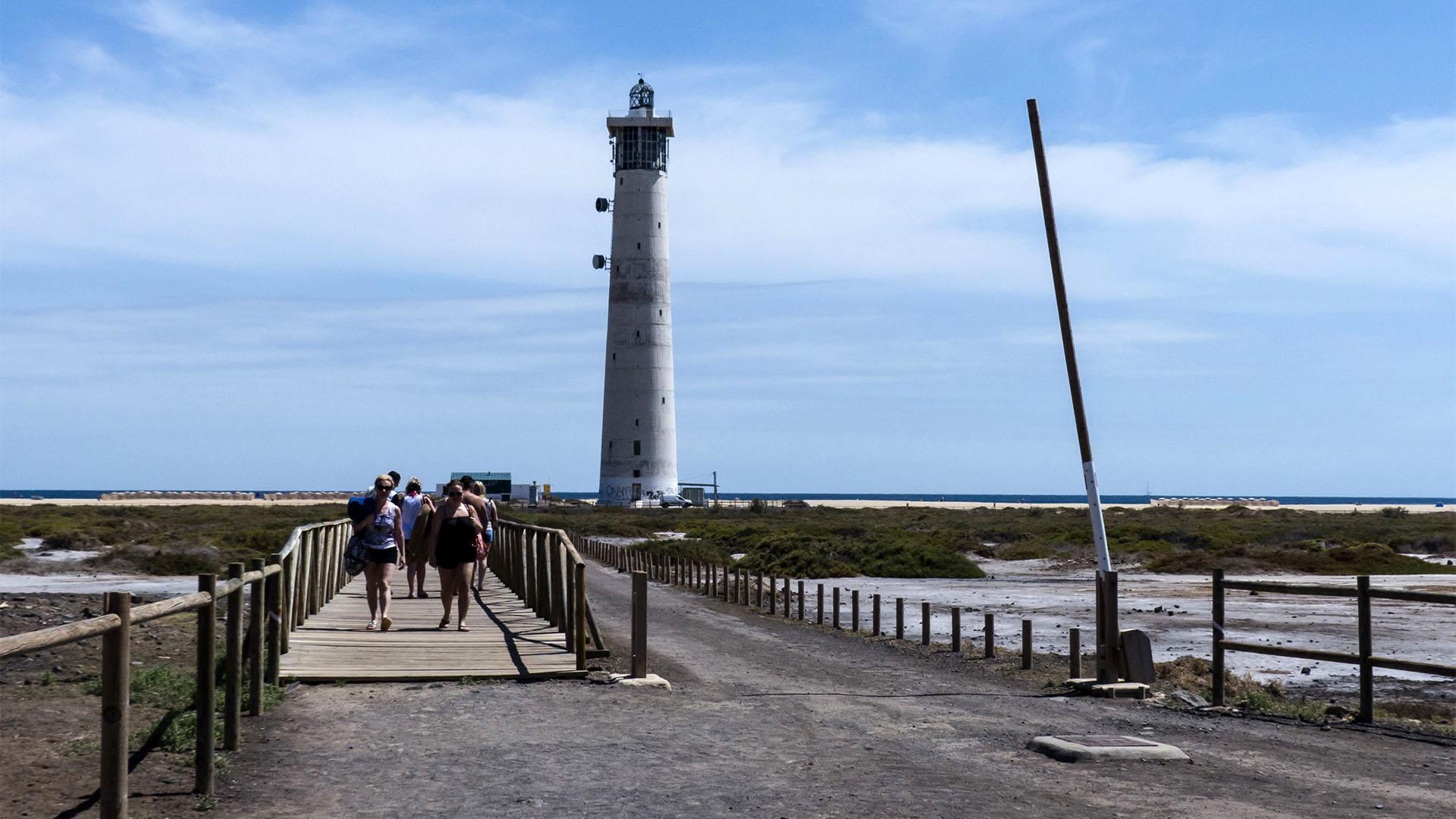 Sehenswürdigkeiten Fuerteventuras: Morro Jable – Faro de Jable – Salzwiesen