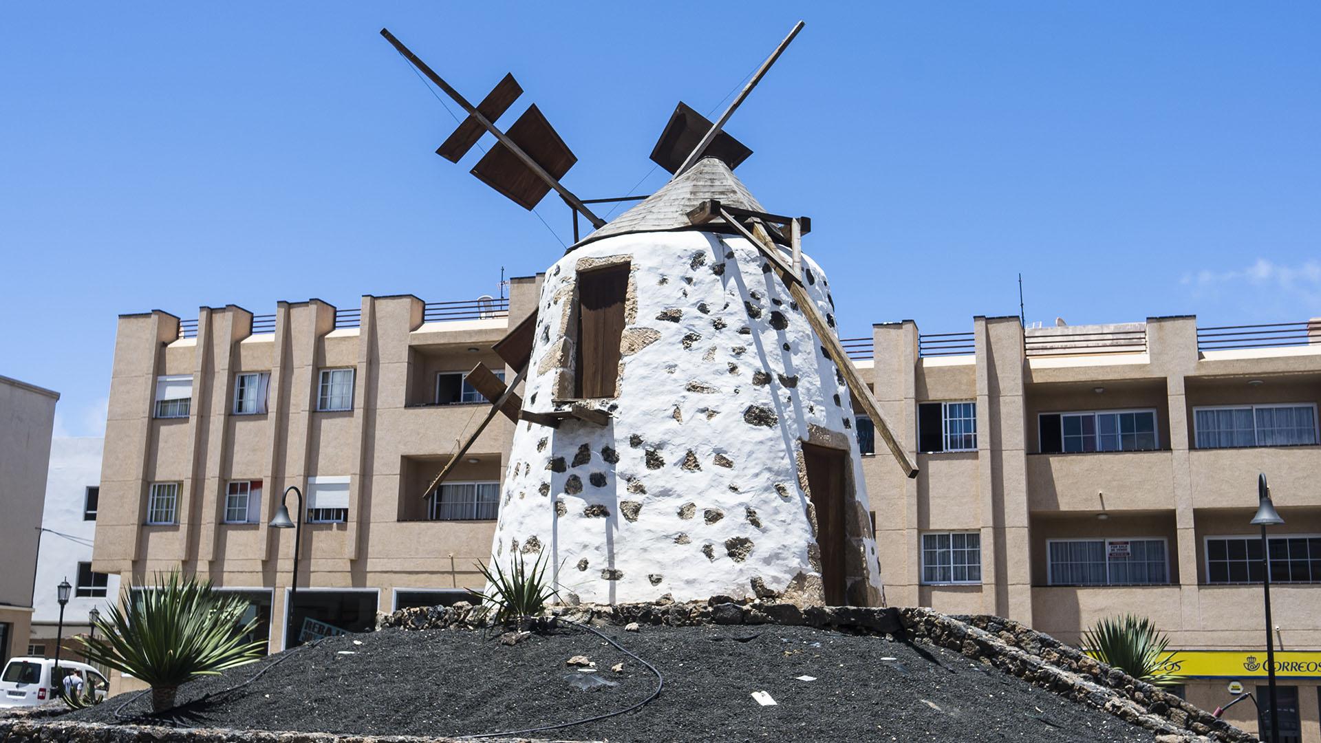 Die Windmühlen von Corralejo Fuerteventura: Molino Domingo Estévez Rodríguez