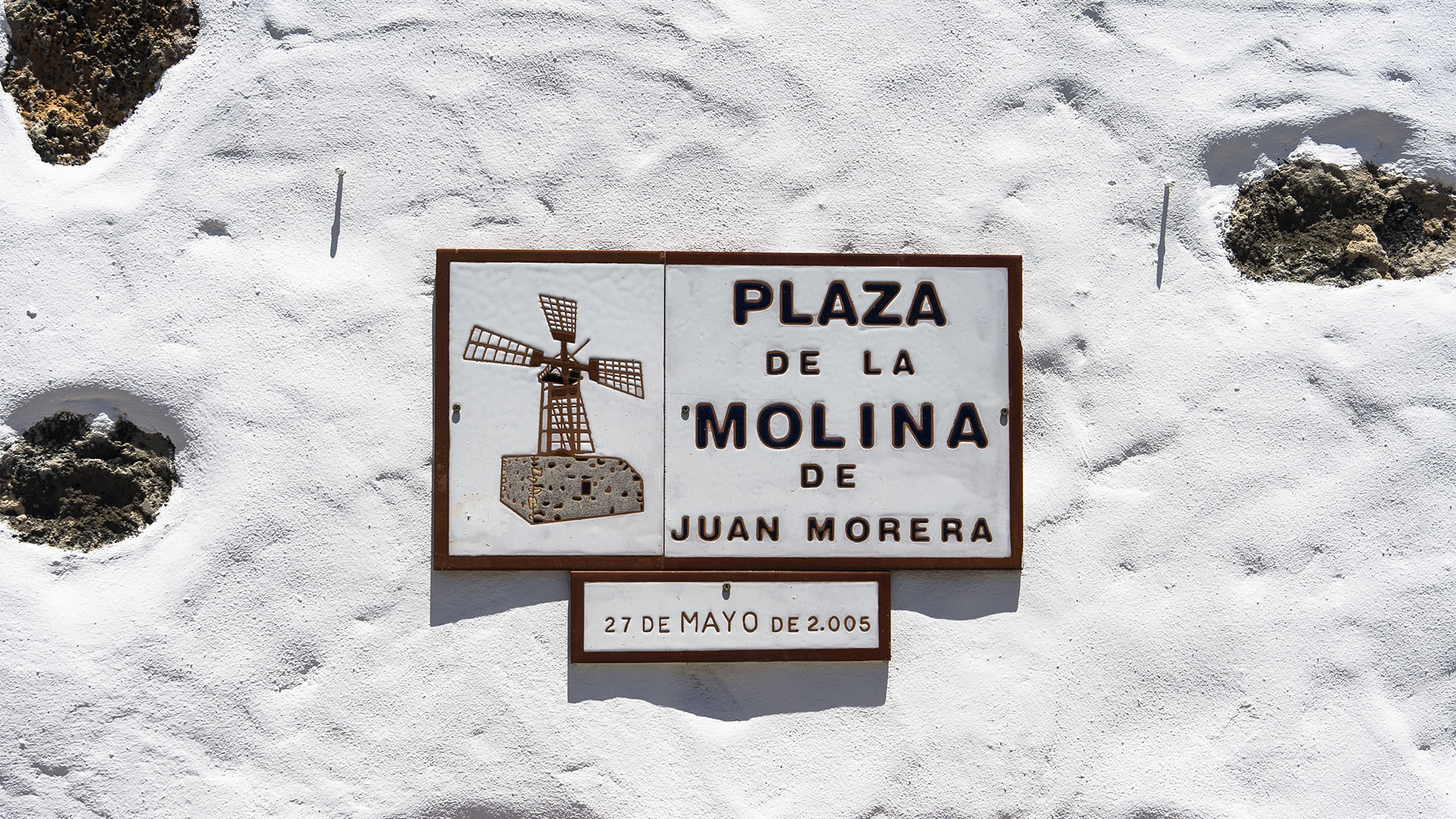 Die Windmühlen von Corralejo Fuerteventura: Molina de Juan Morera