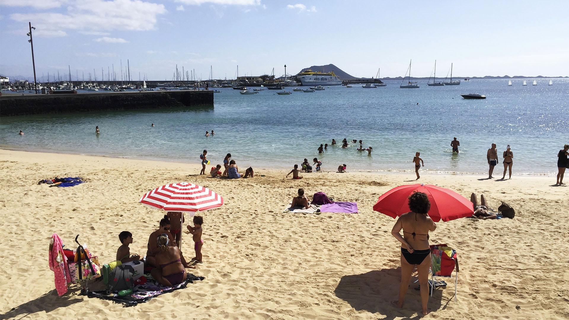 Der Ort Corralejo Fuertventura: Paseo