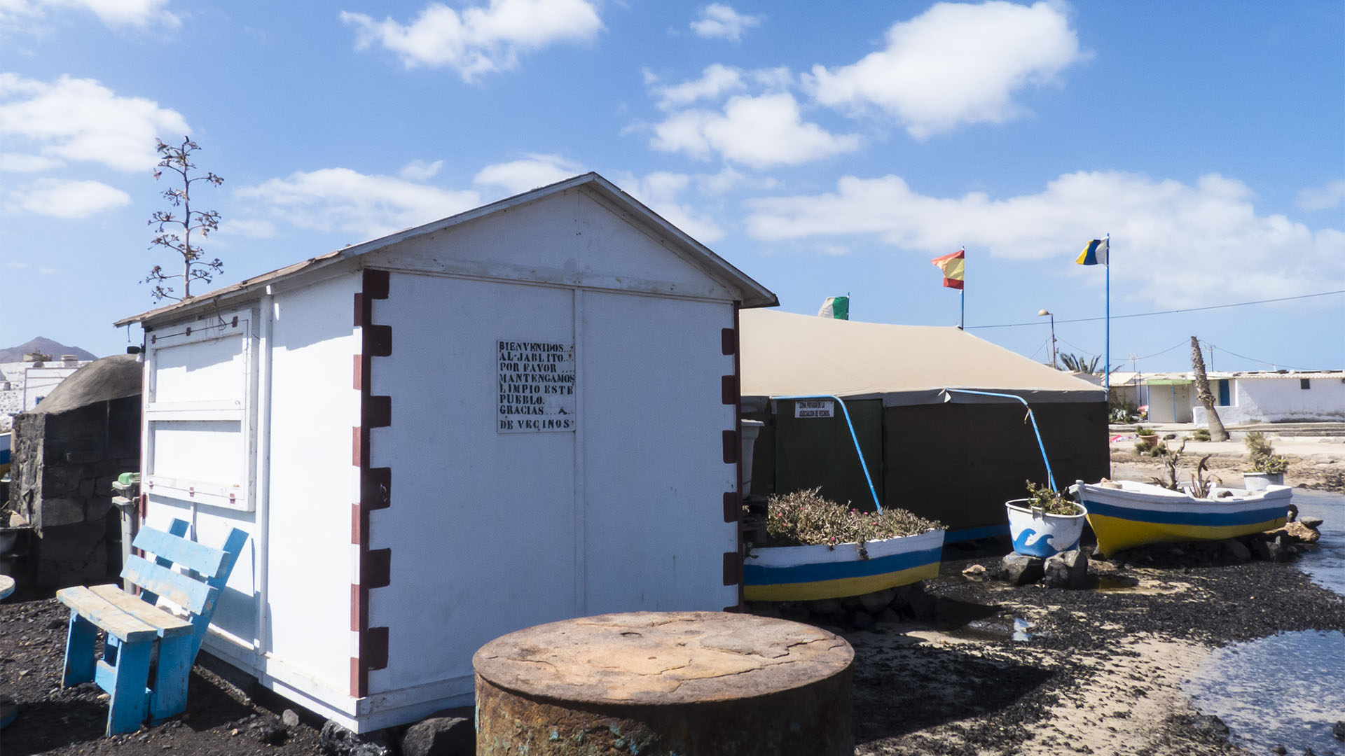 Städte und Ortschaften Fuerteventuras: El Jablito
