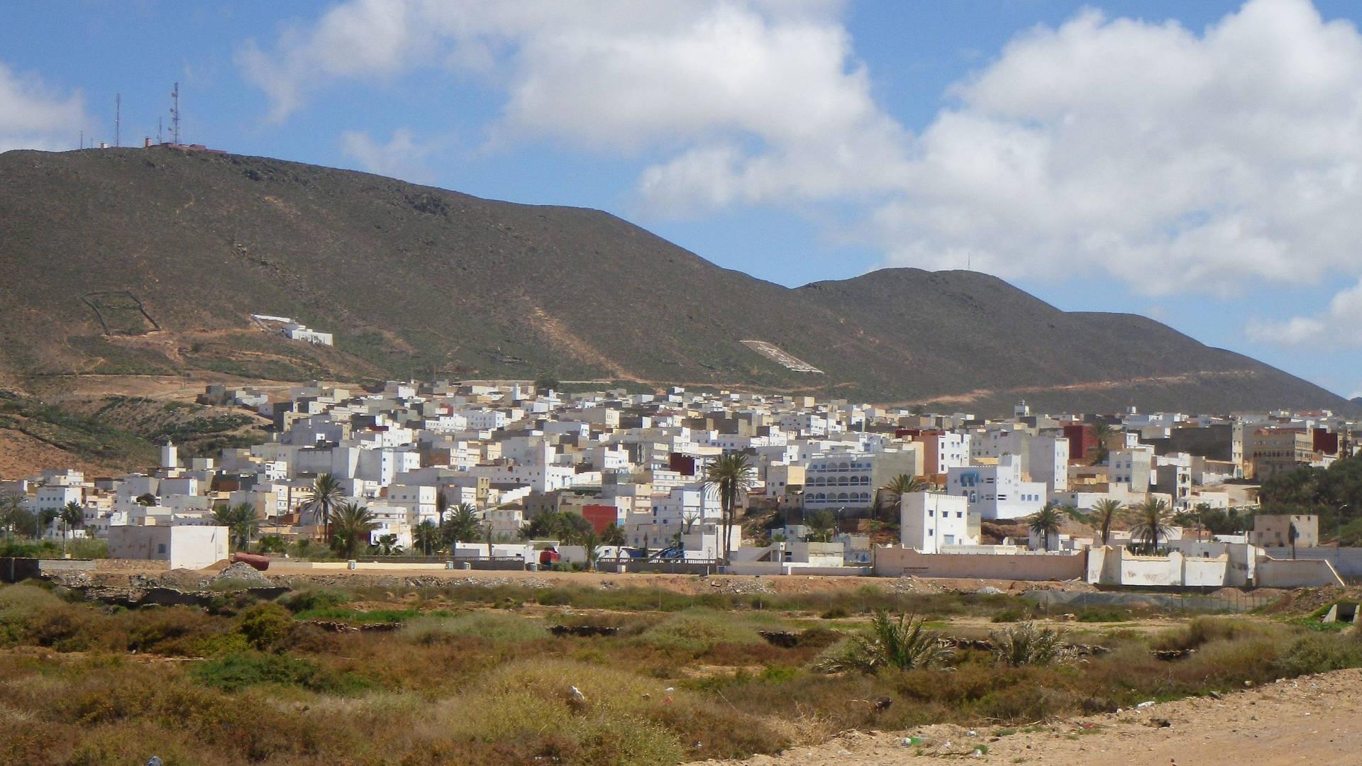 Sidi Ifni erbaut von Spanien in der Zeit der Franco Diktatur.