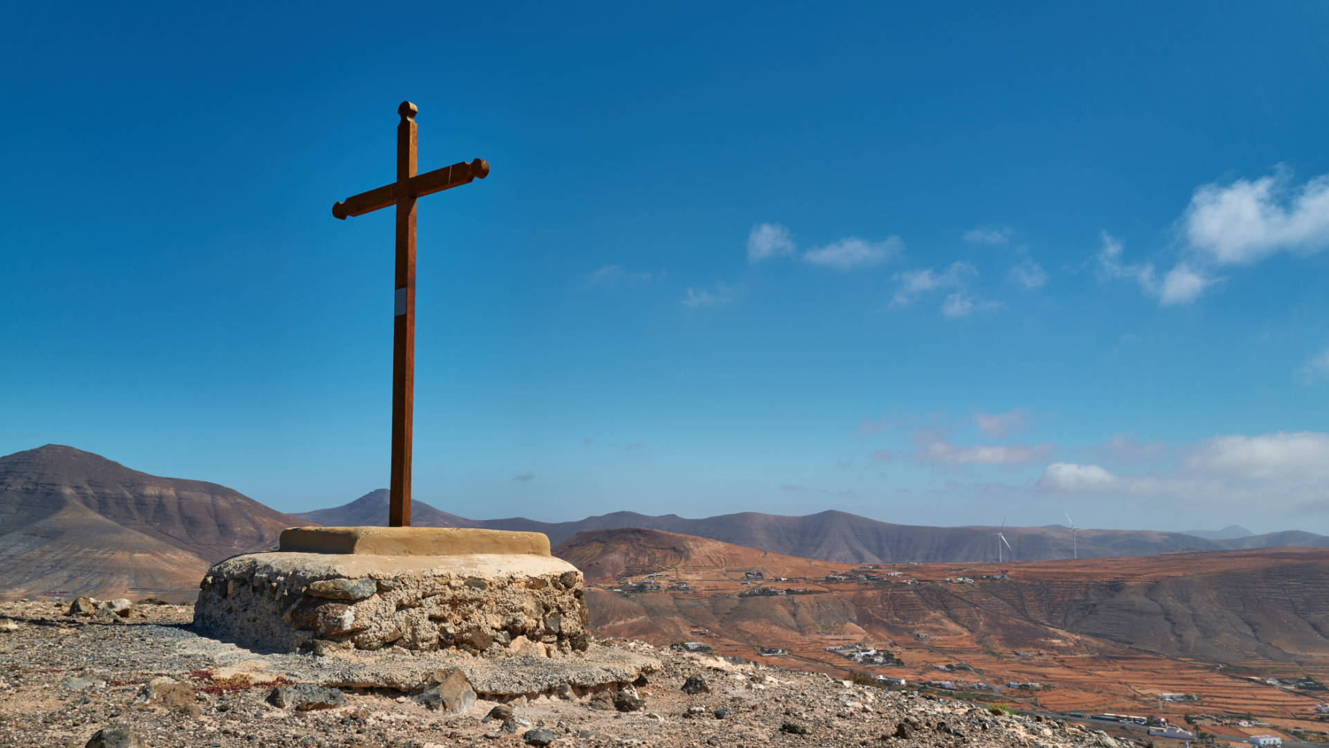 Montaña San Andrés Tetir Fuerteventura.