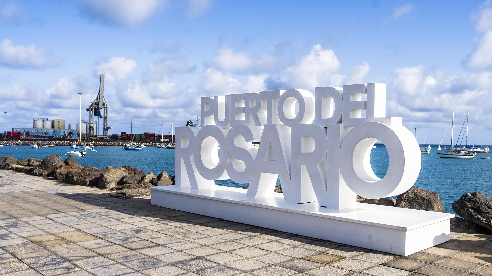 Der Paseo von Puerto del Rosario Fuerteventura.