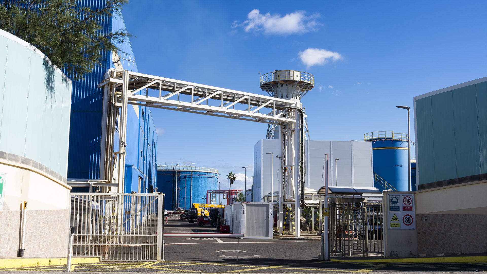 Kraftwerk Puerto del Rosario Fuerteventura.