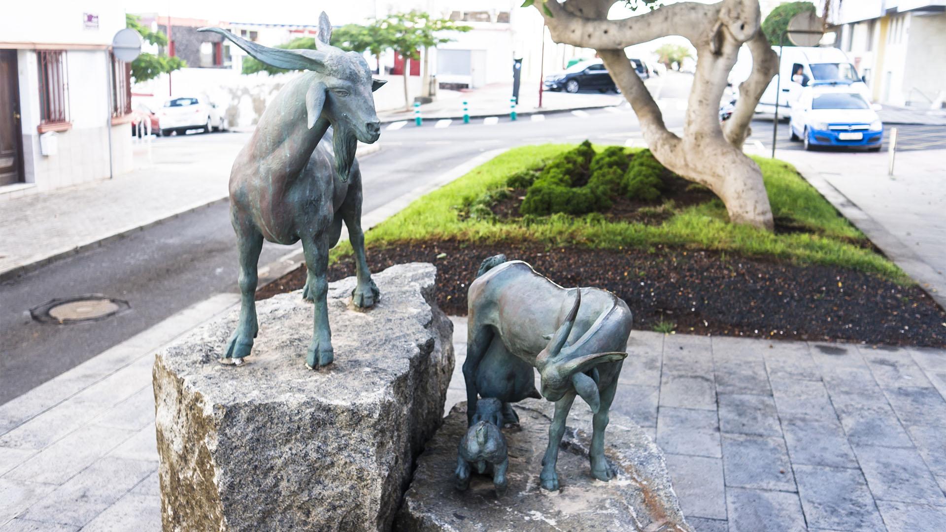 Skulpturen Cabras Ziegen Puerto del Rosario Fuerteventura