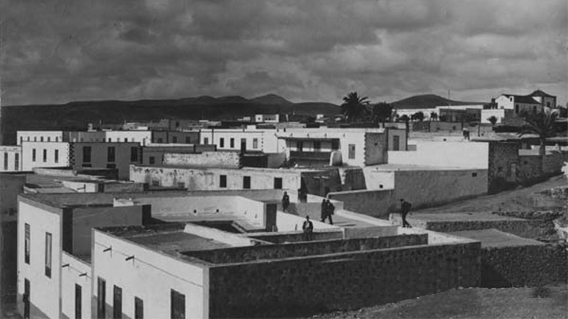 Der Puerto de Cabras Fuerteventura: Die Hauptstadt im Jahre 1925.