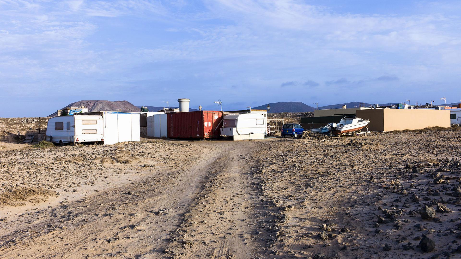 Städte und Ortschaften Fuerteventuras: Majanicho –El Jablito