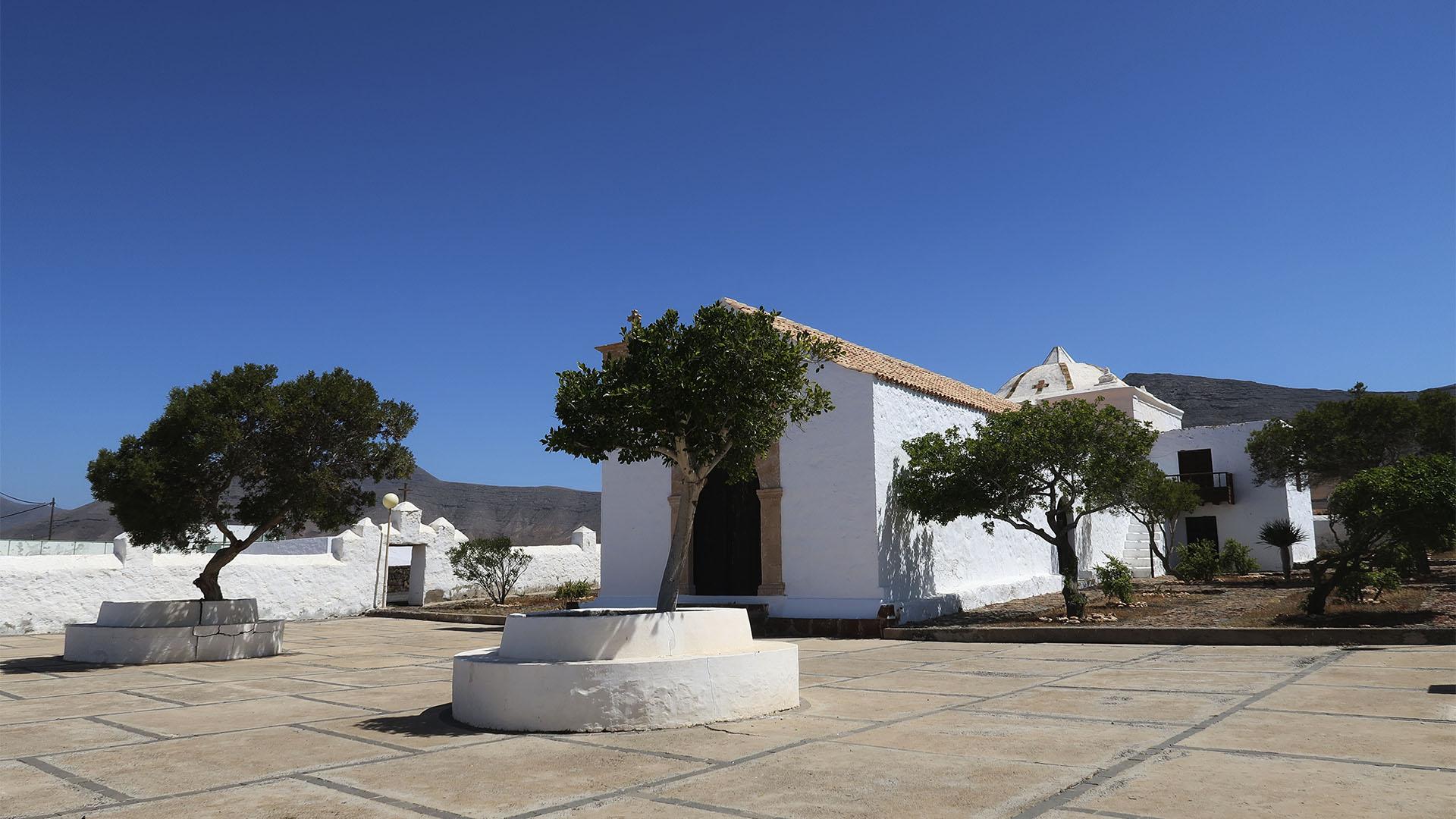 Der Ort Tefía Fuerteventura.