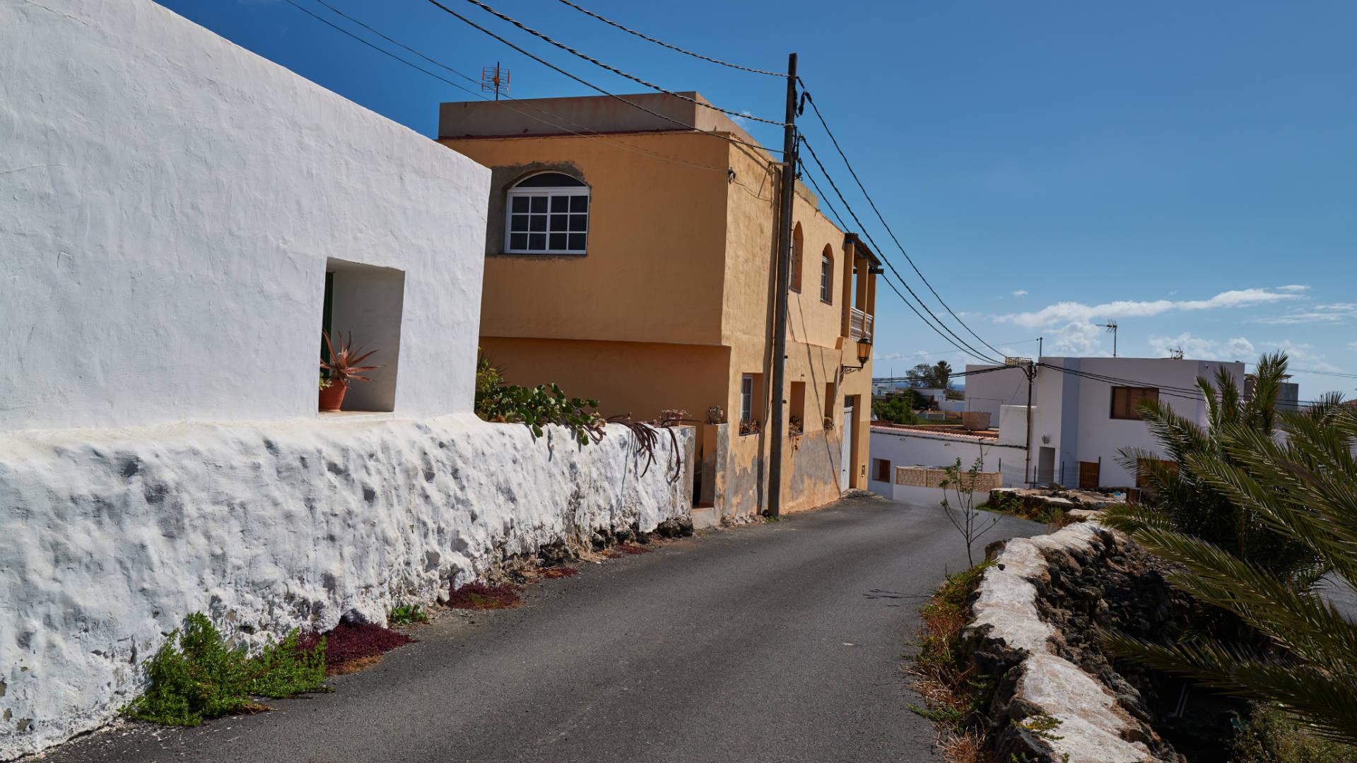 Der Ort El Roque nahe El Cotillo Fuerteventura.