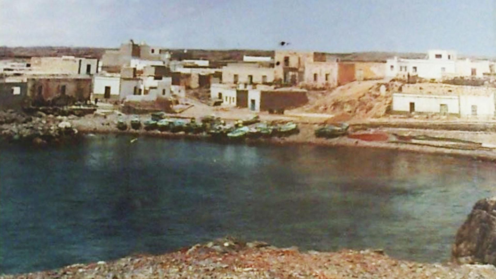 El Cotillo Fuerteventura historische Aufnahme ohne Jahr.