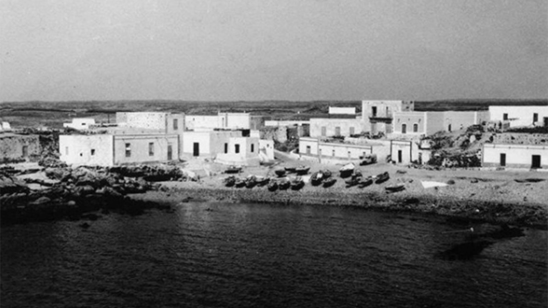 Der Ort El Cotillo Fuerteventura: El Cotillo in den 1970igern.