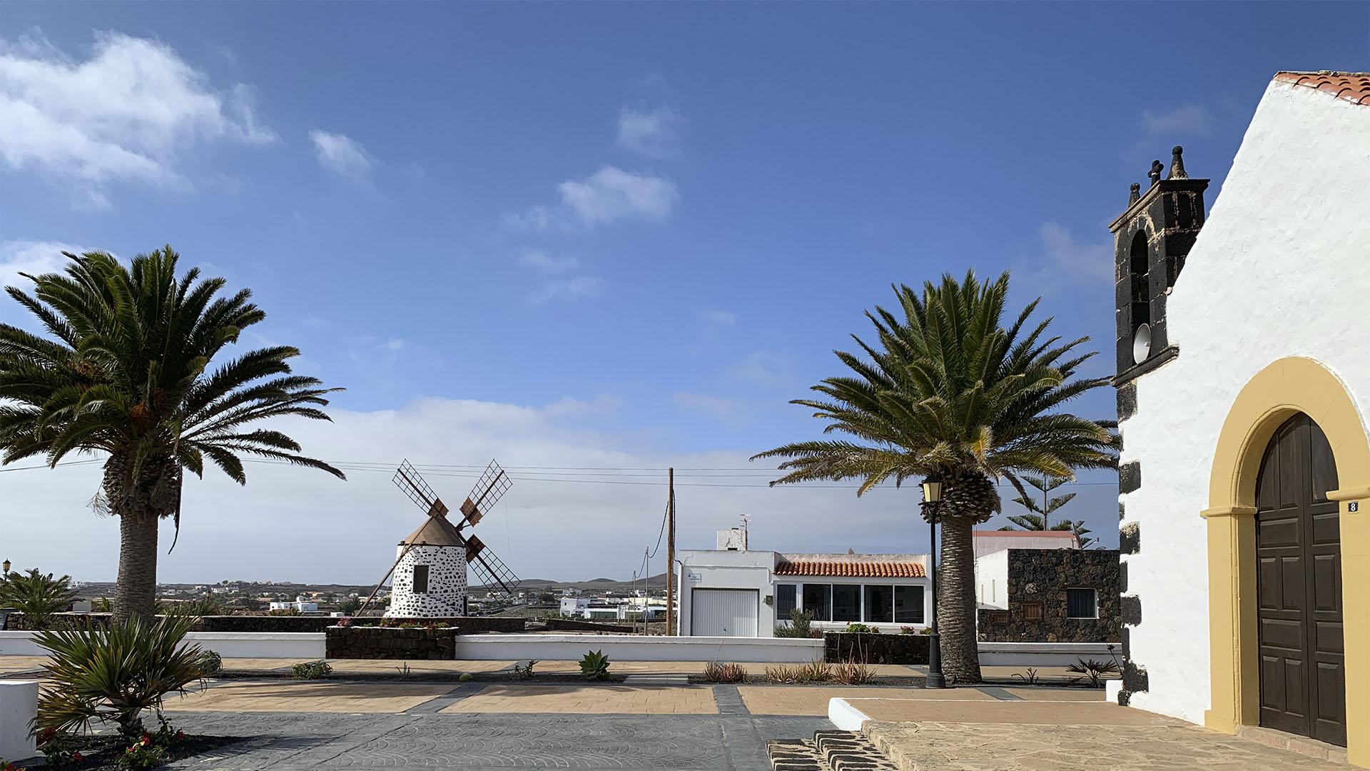 Der Ort Lajares auf Fuerteventura.