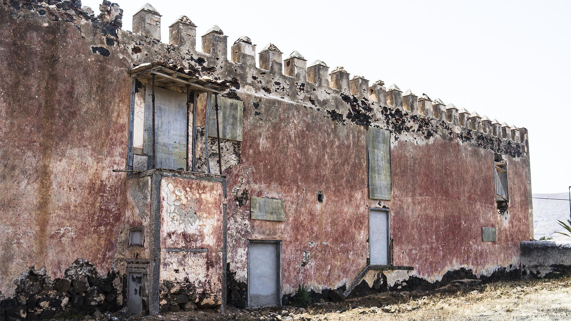 Der Ort La Oliva Fuerteventura: Die Casa del Inglés aus dem 18. Jhd.