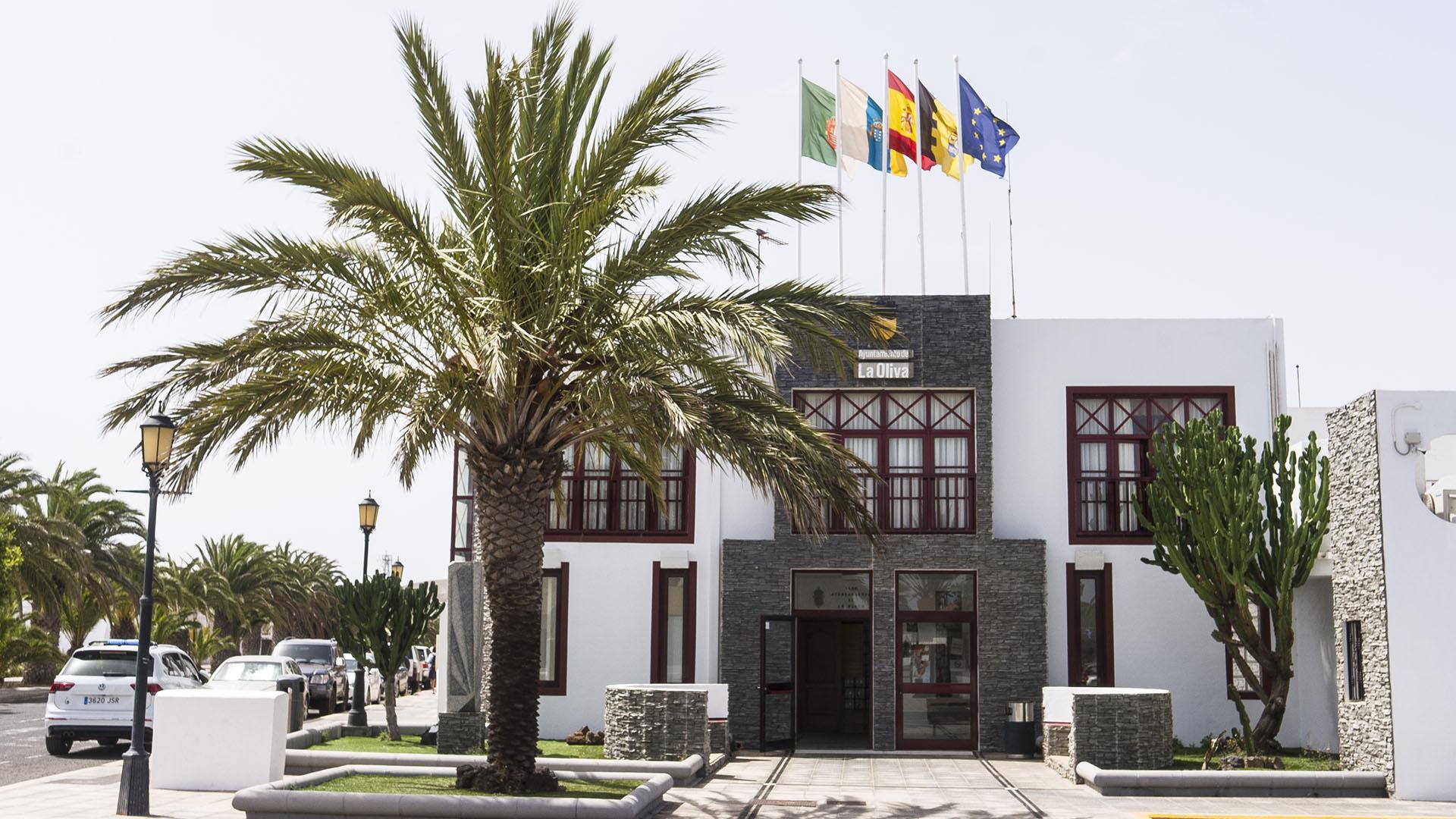 Der Ort La Oliva Fuerteventura.