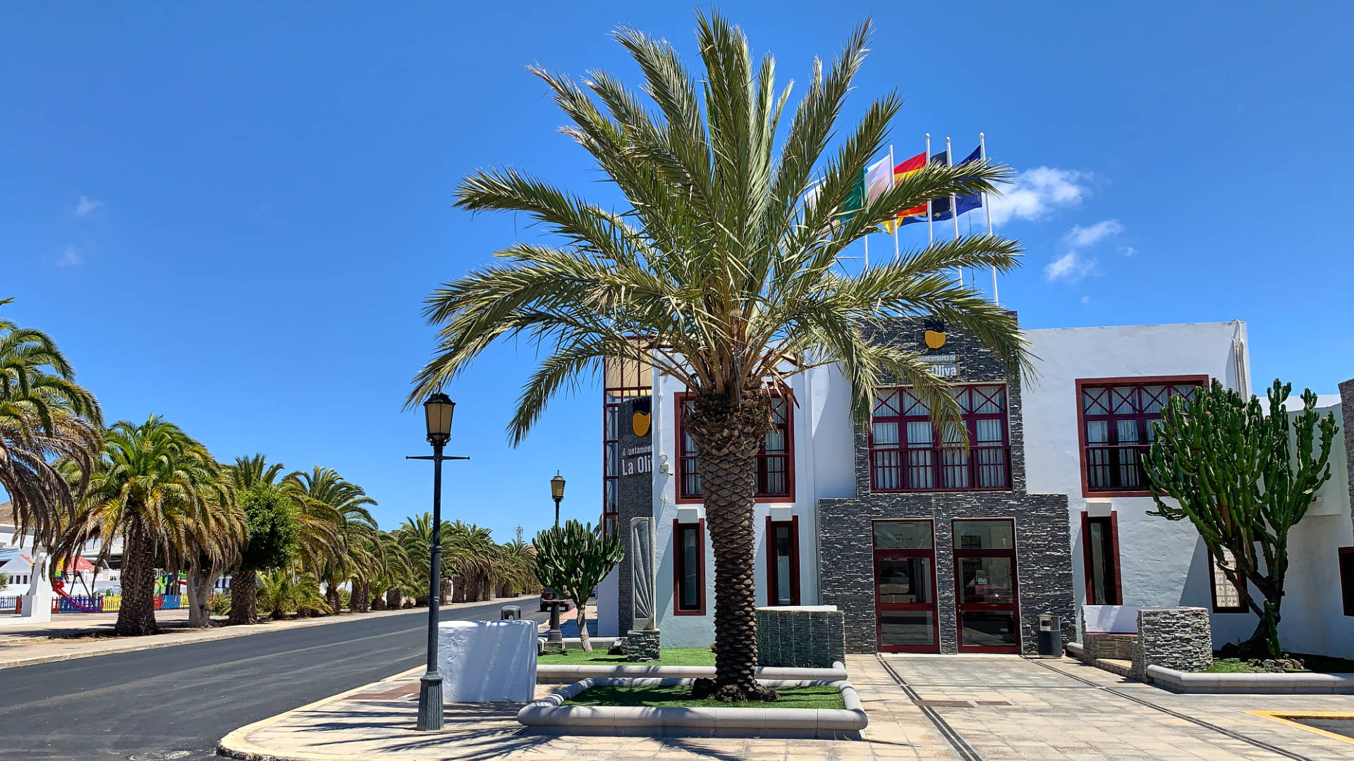 Das Ayuntamienteo von La Oliva Fuerteventura.