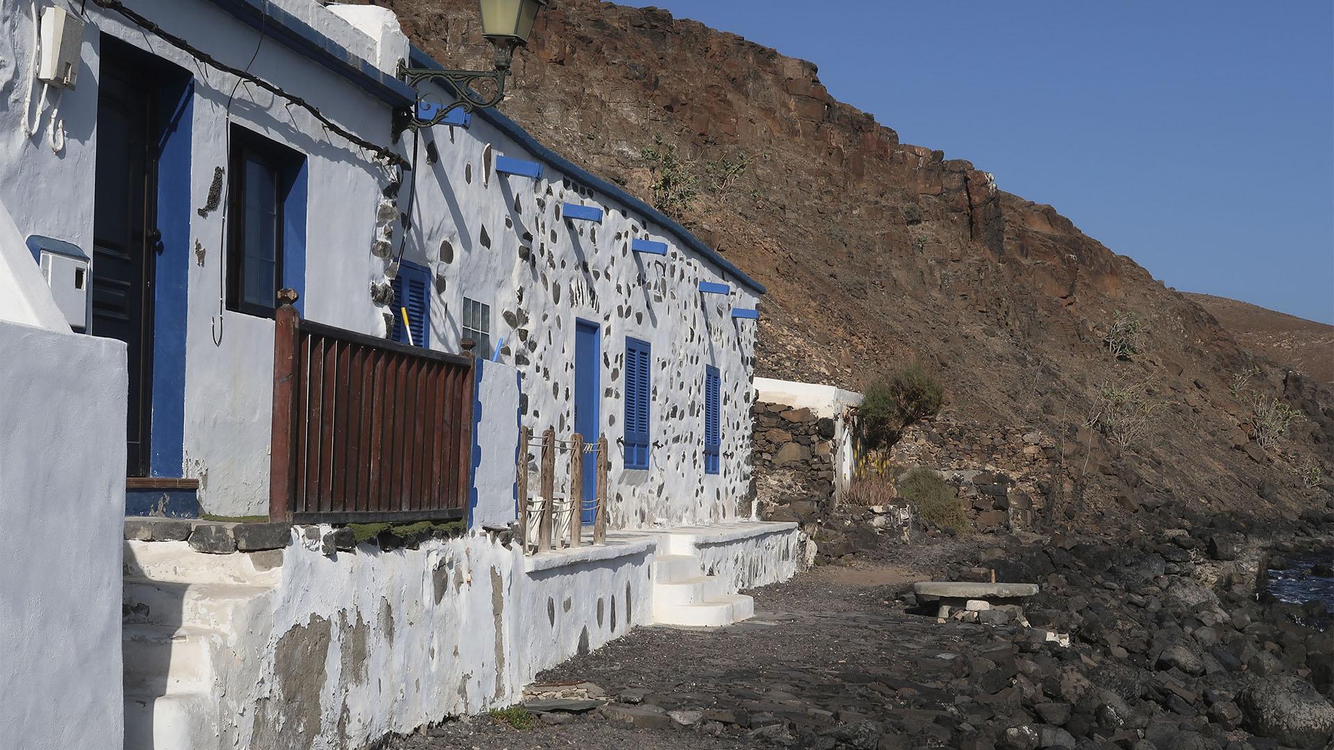Der Ort Pozo Negro Fuerteventura.