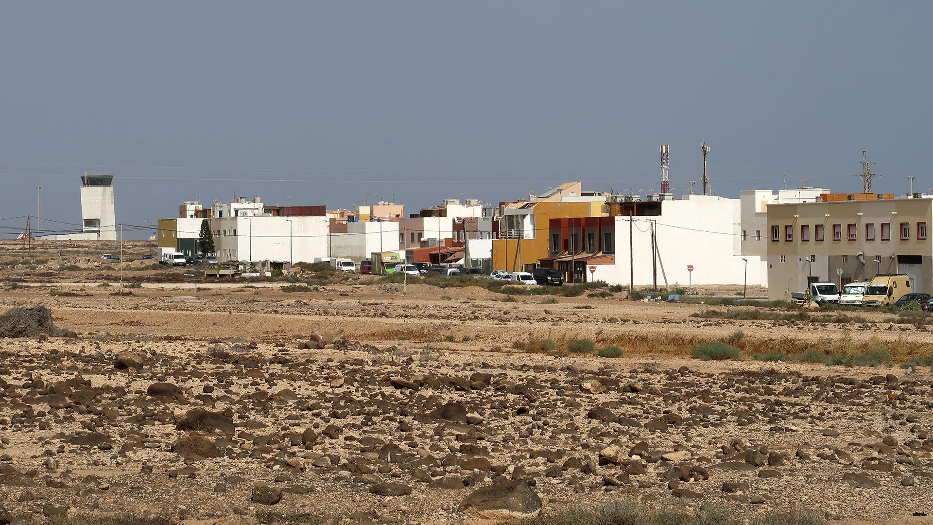 Der Ort El Matorral Fuerteventura.