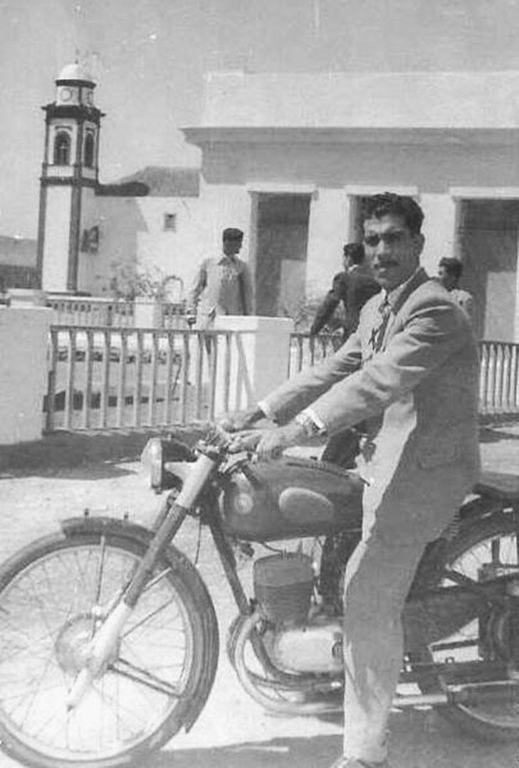 Manuel Padrón Gutiérrez in Antigua Fuerteventura 1924.