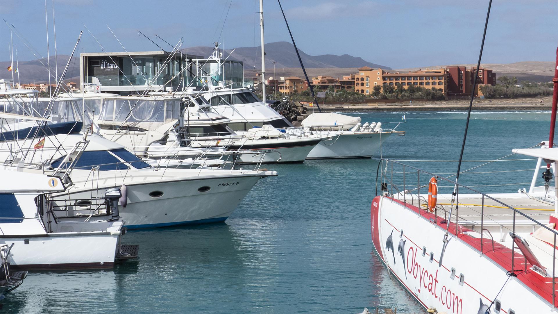 Städte und Ortschaften Fuerteventuras: Caleta de Fuste