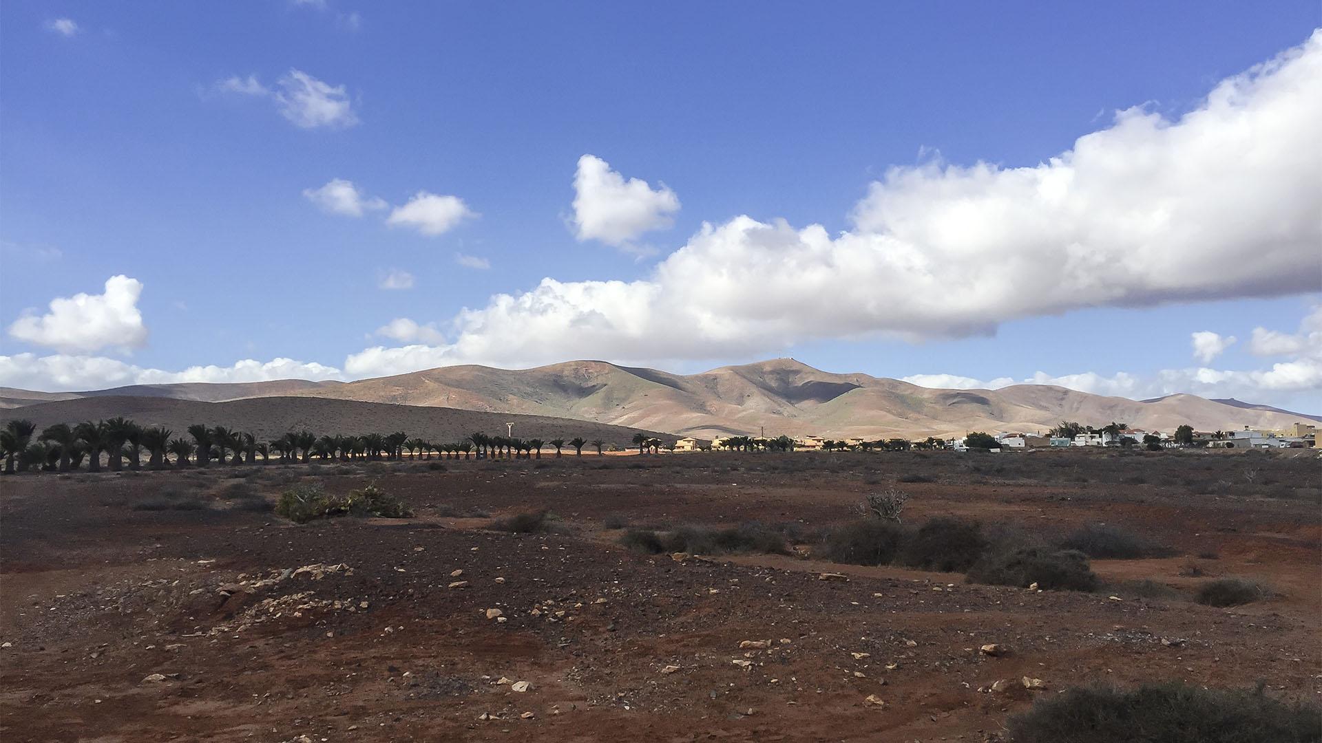 Die Ebene des Valles de Ortega Fuerteventura.