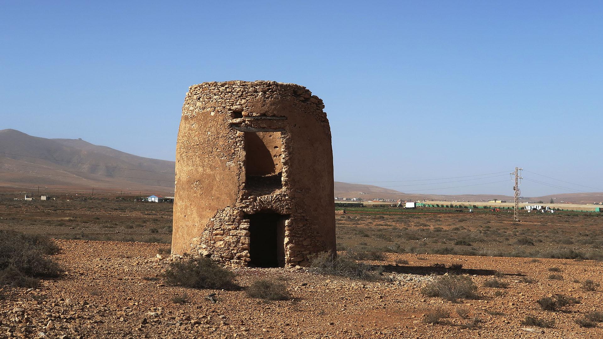 Windmühlen Valles de Ortega Fuerteventura.