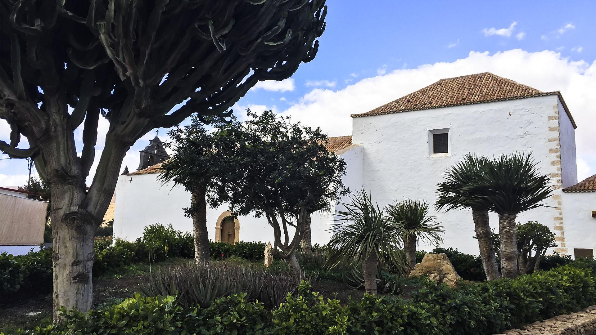 Städte und Ortschaften Fuerteventuras: Valles de Ortega – Ermita de Sanroque