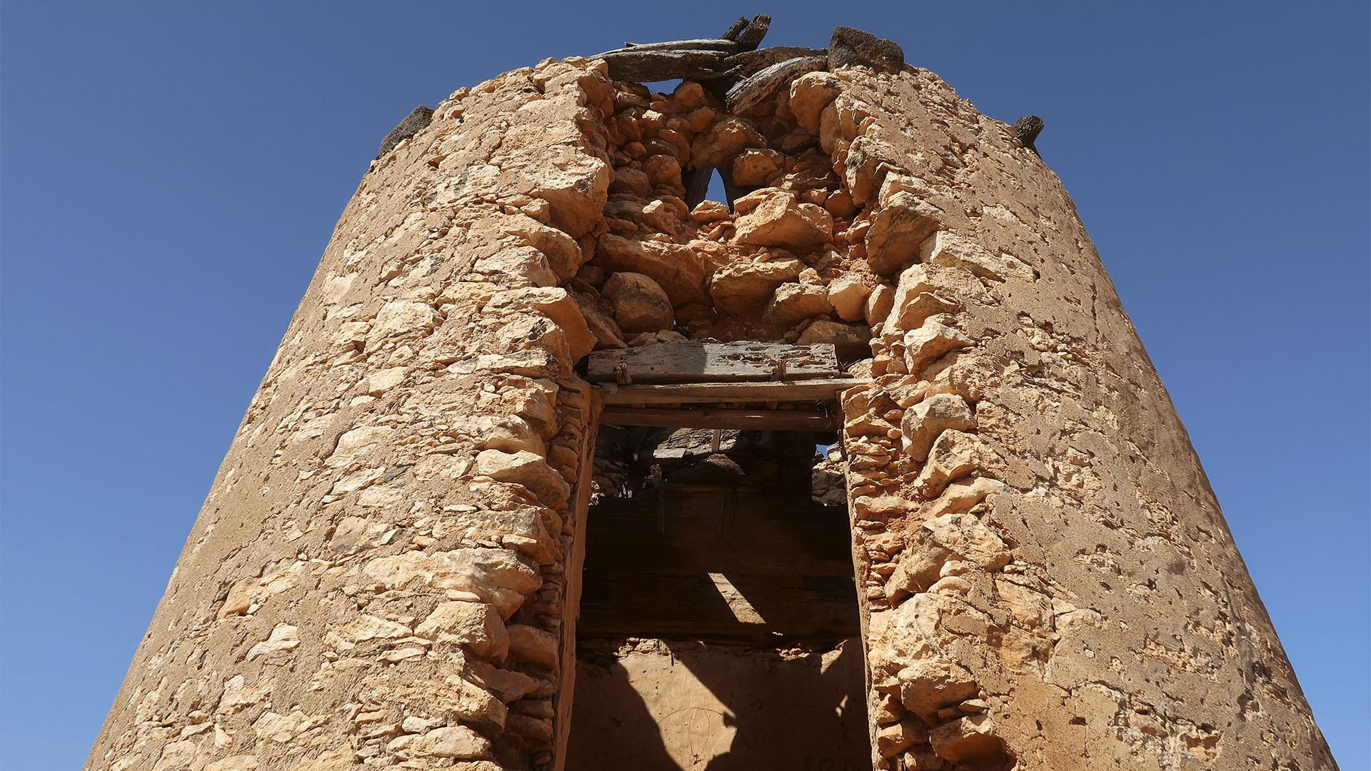 Windmühlen im Valles de Ortega Fuerteventura.