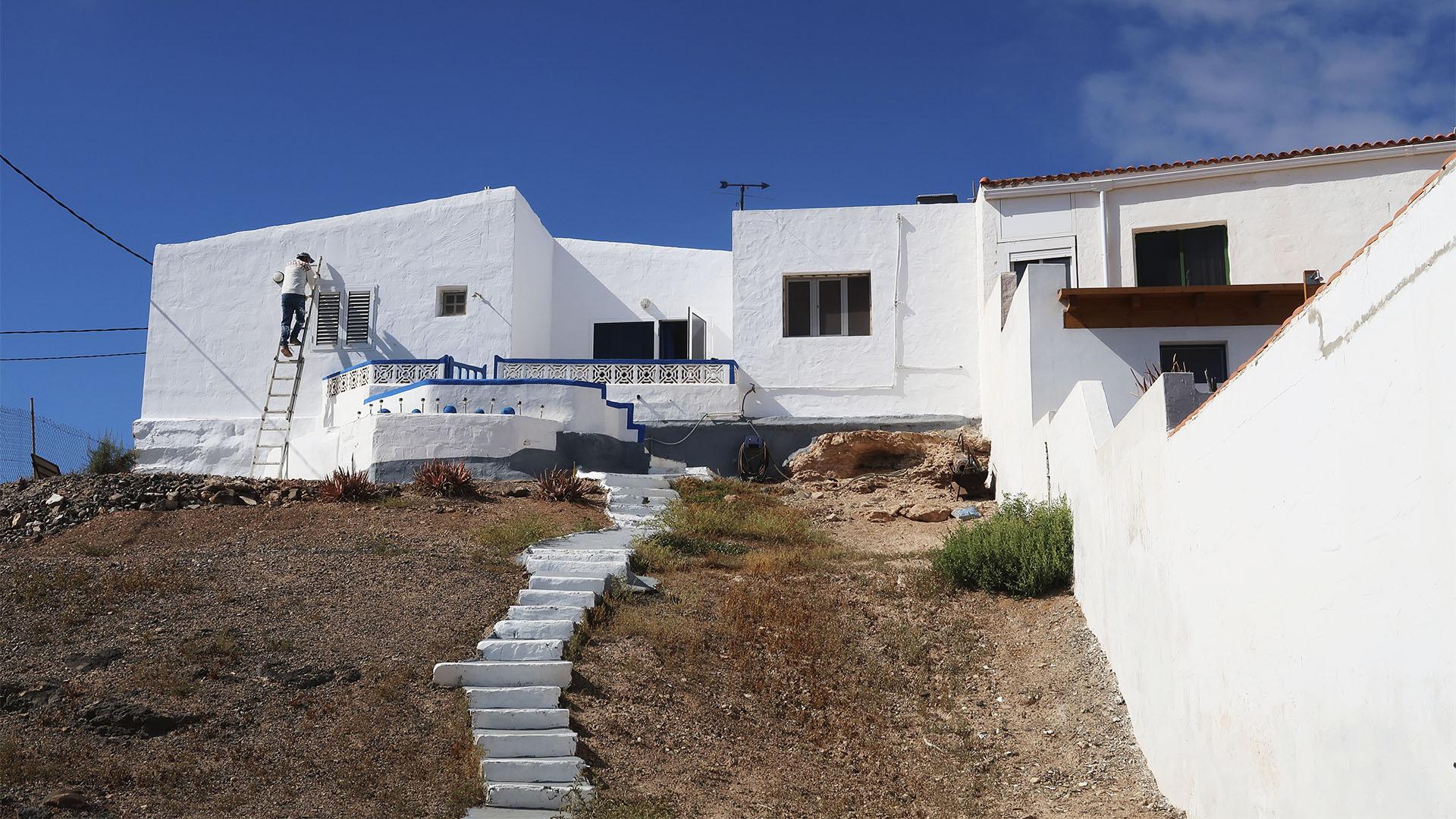 Der Ort Salinas del Carmen Fuerteventura.