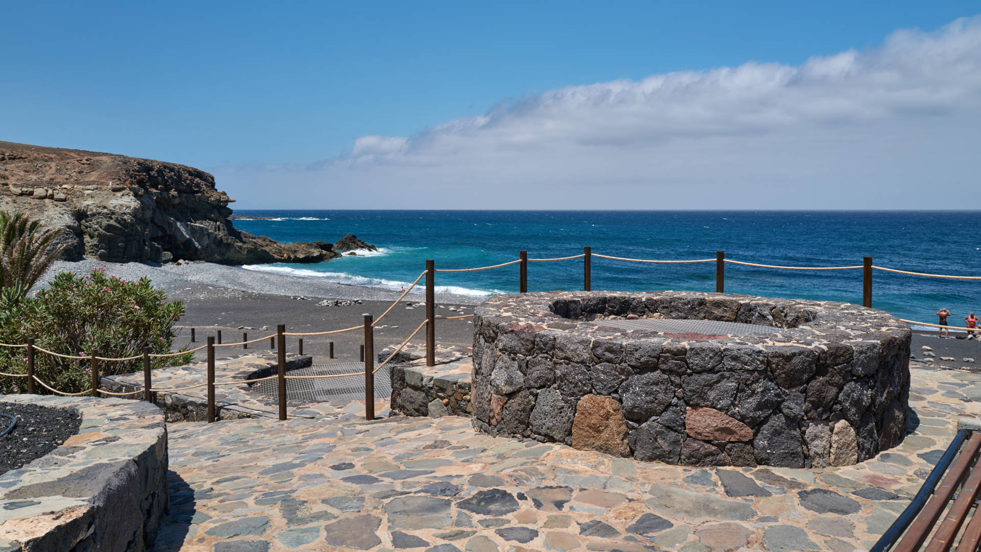 Die Kalköfen am Playa de Ajuy Fuerteventura.