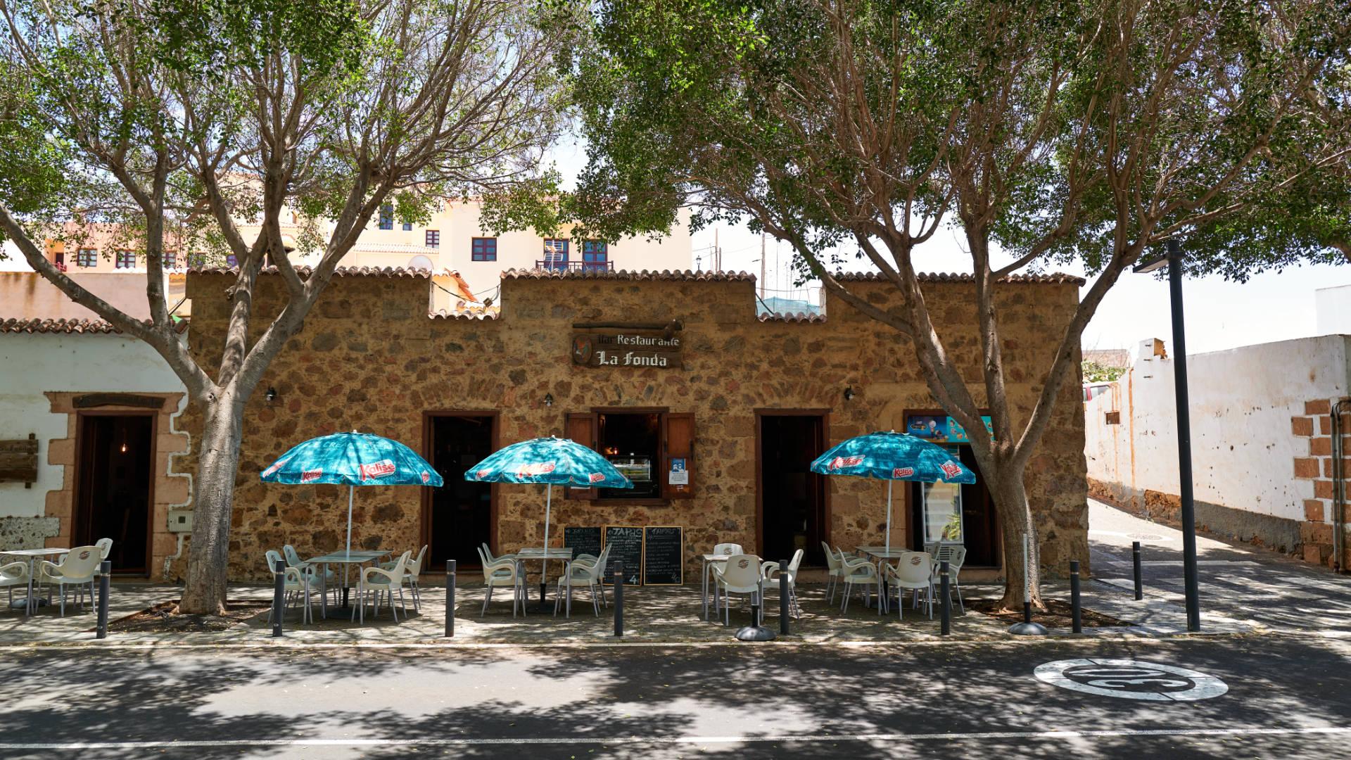 Der Ort Pájara auf Fuerteventura.