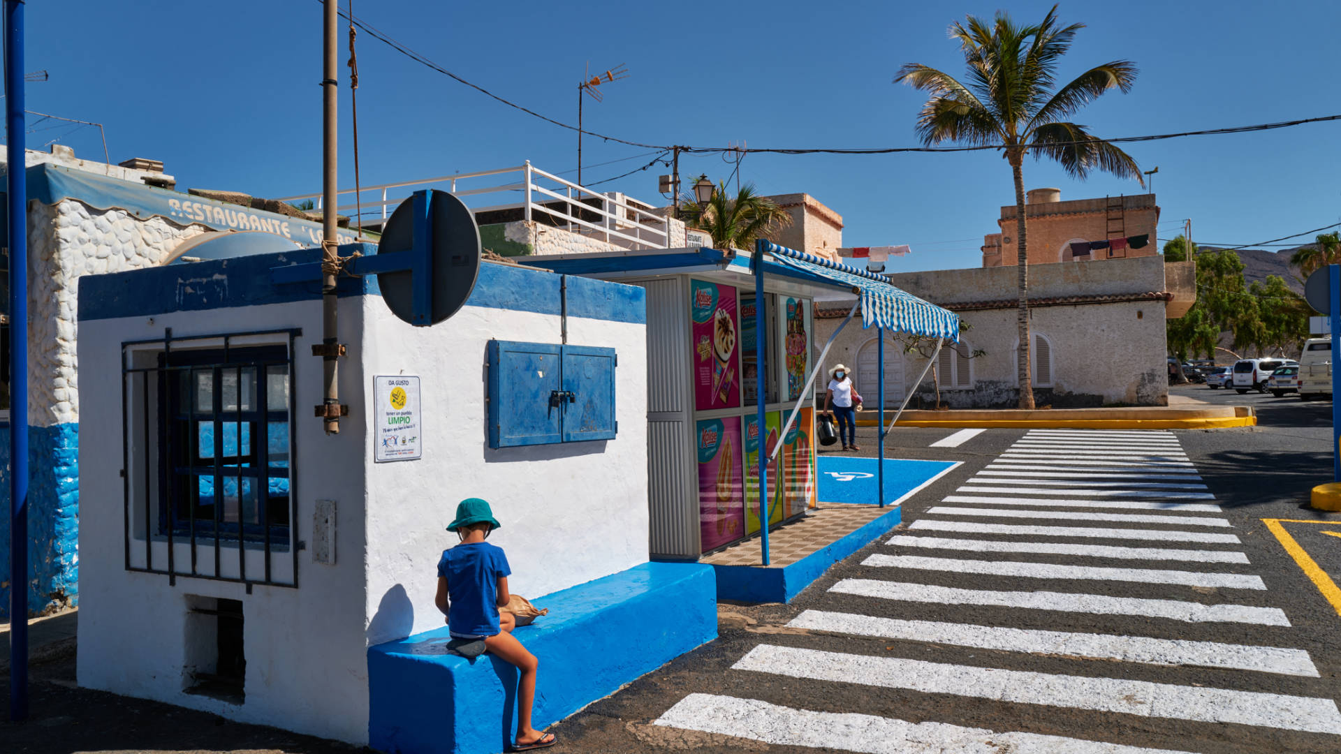 Der Ort Las Playitas auf Fuerteventura.