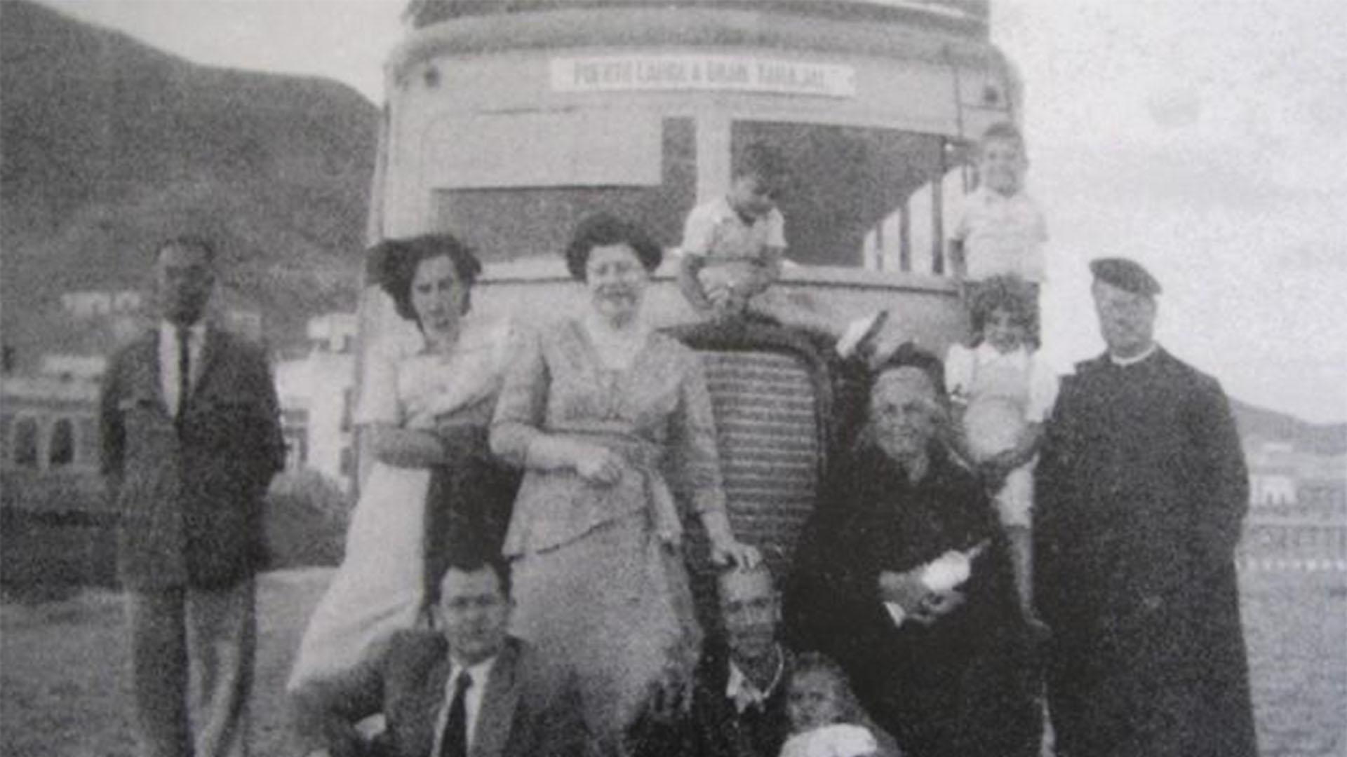 Der Ort Gran Tarajal: Der erste Bus von Fuerteventura Puerto del Rosario –Gran Tarajal.