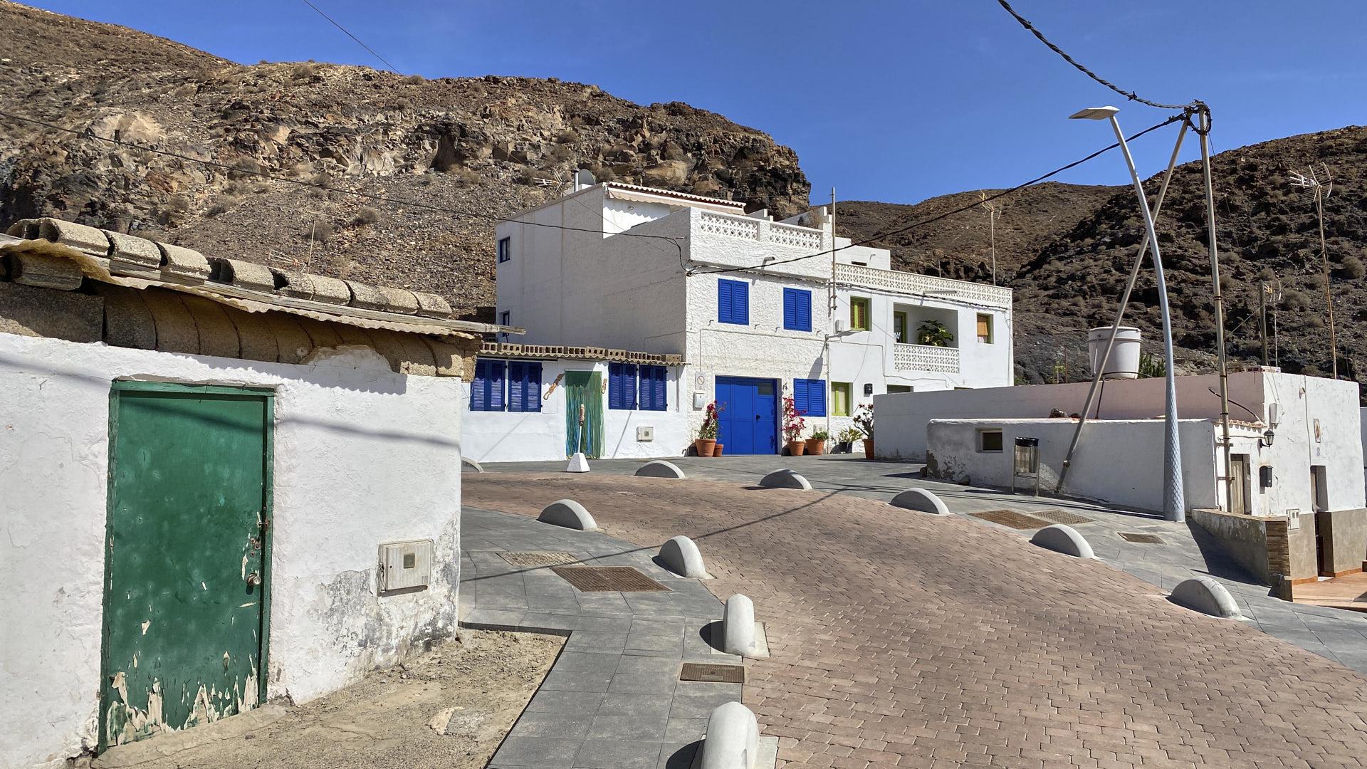 Der Ort Giniginámar auf Fuerteventura.
