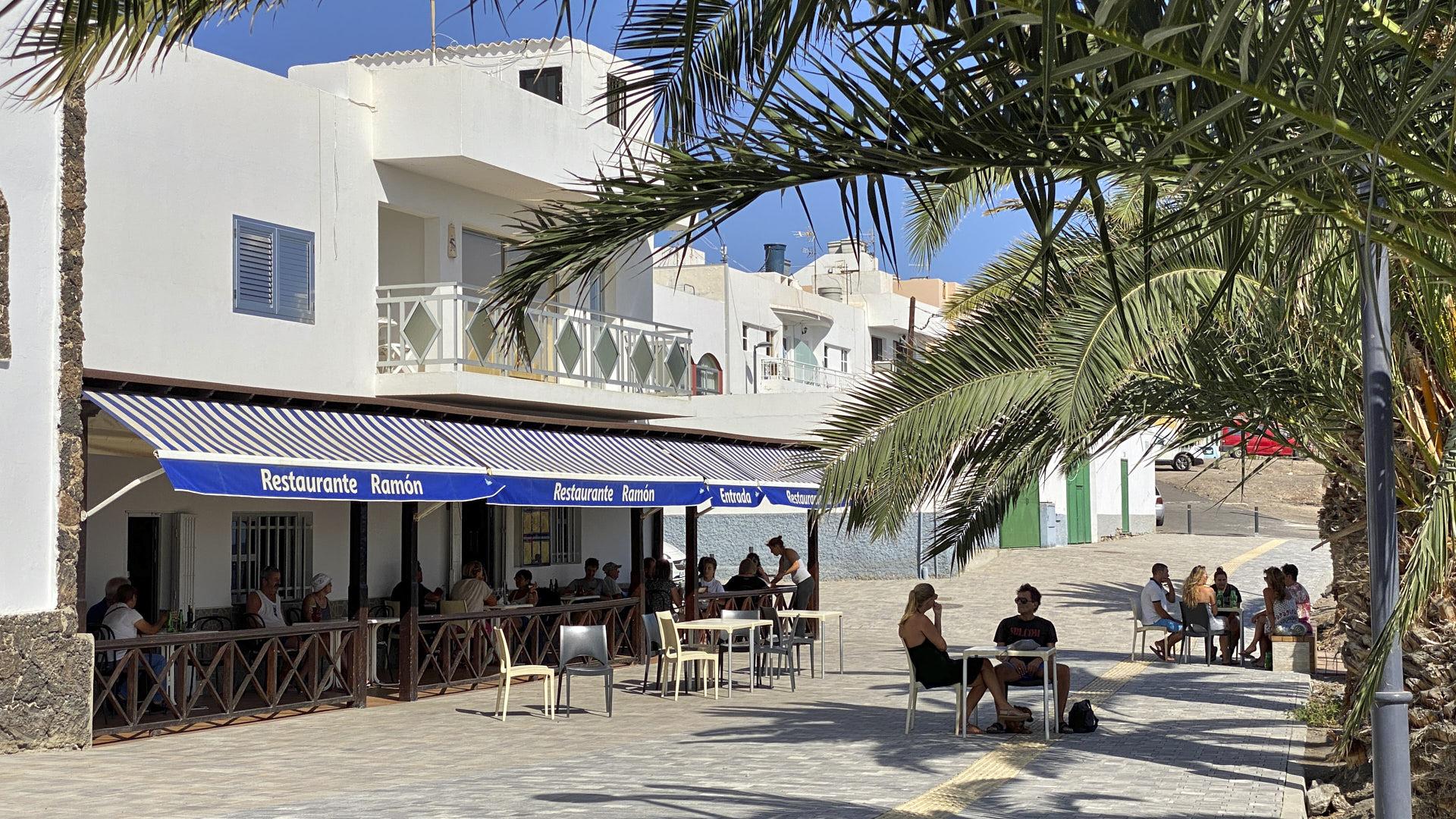 Der Ort La Lajita Fuerteventura.
