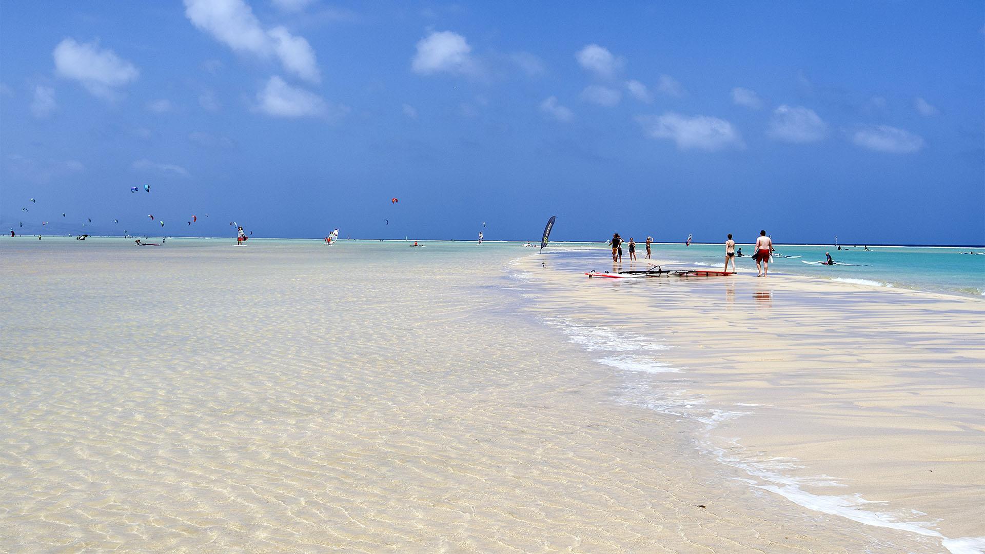 Sonnen und baden auf Fuerteventura.