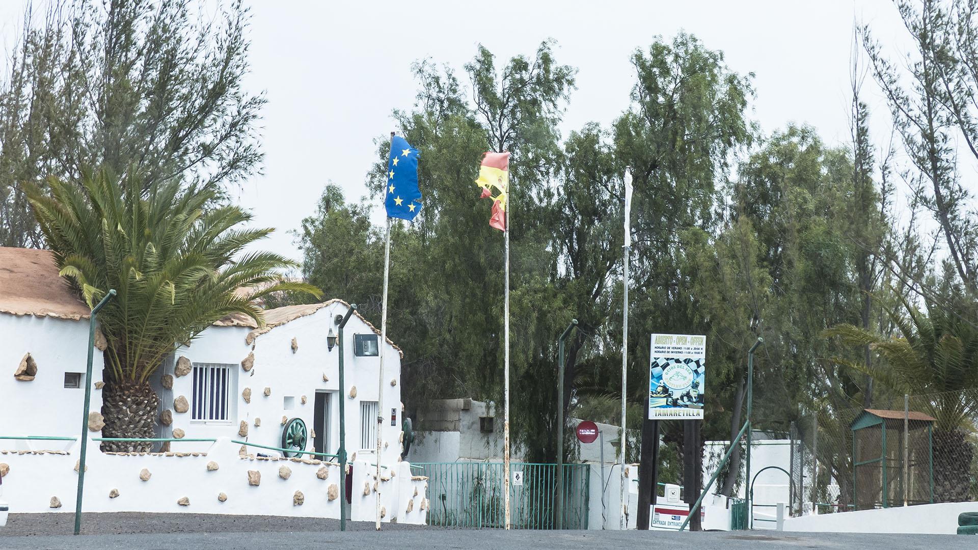Kartsport auf Fuerteventura.